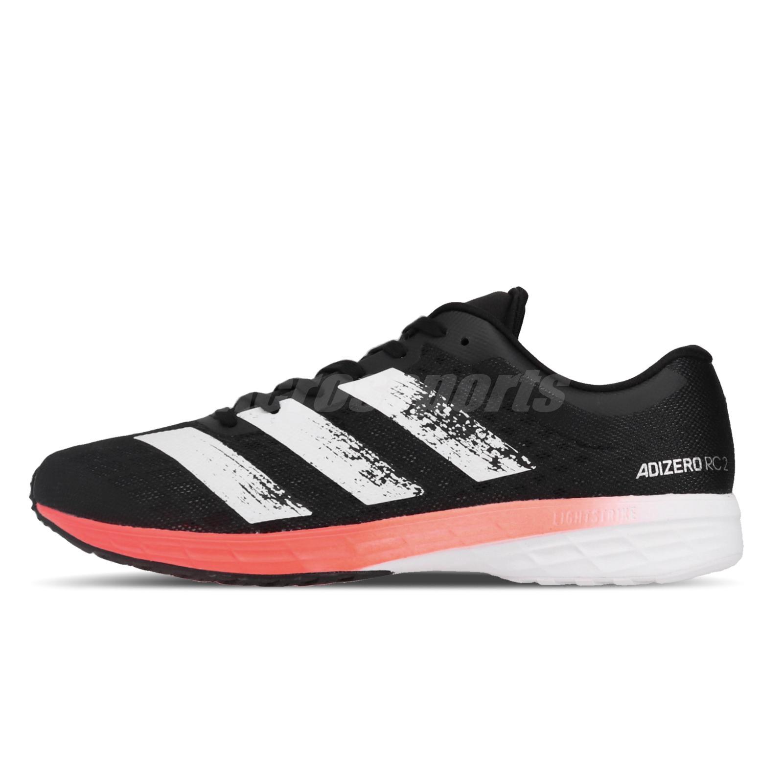 adidas Performance adizero RC 2 schwarz//weiß//orange Herren Laufschuhe EE4337