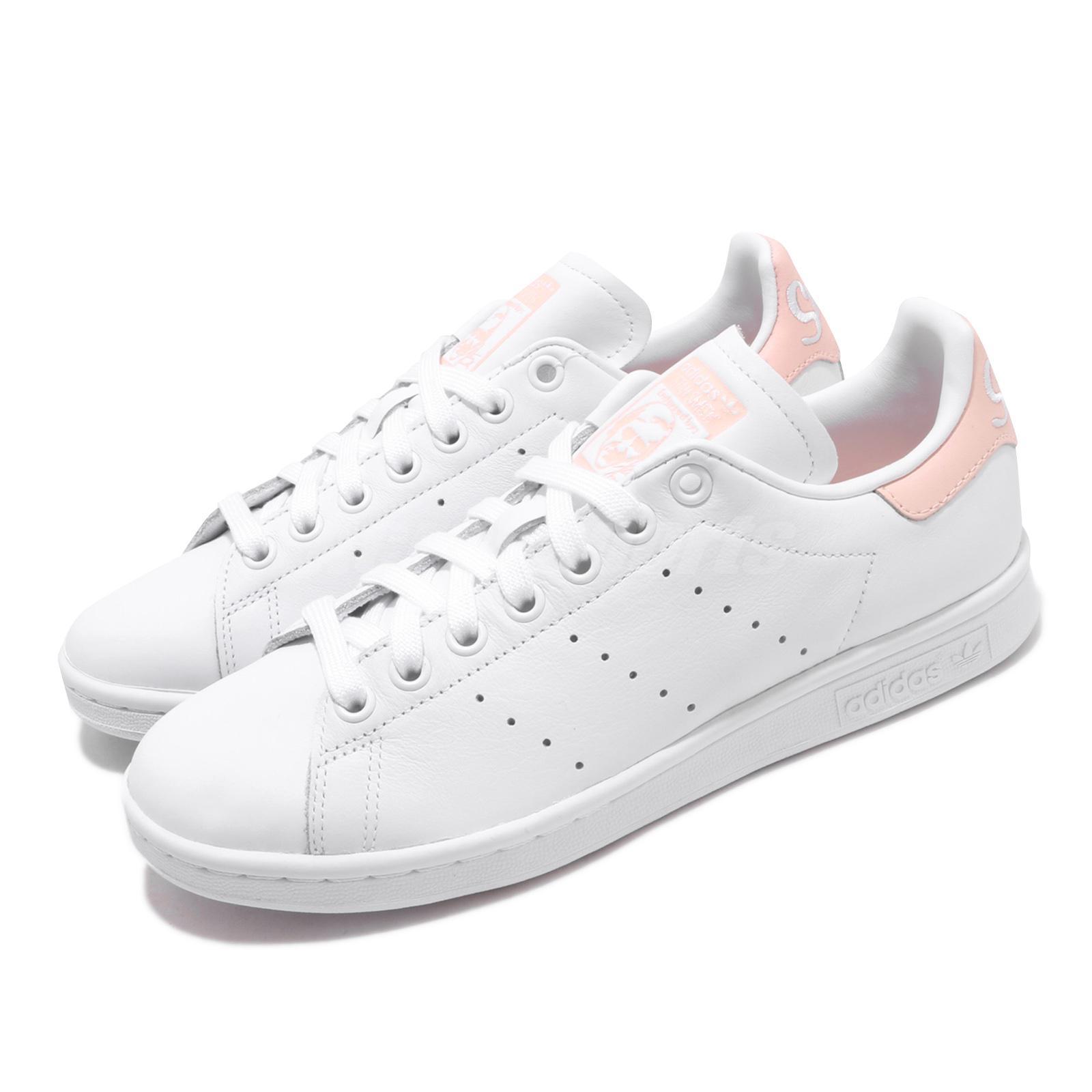 stan smith white pink