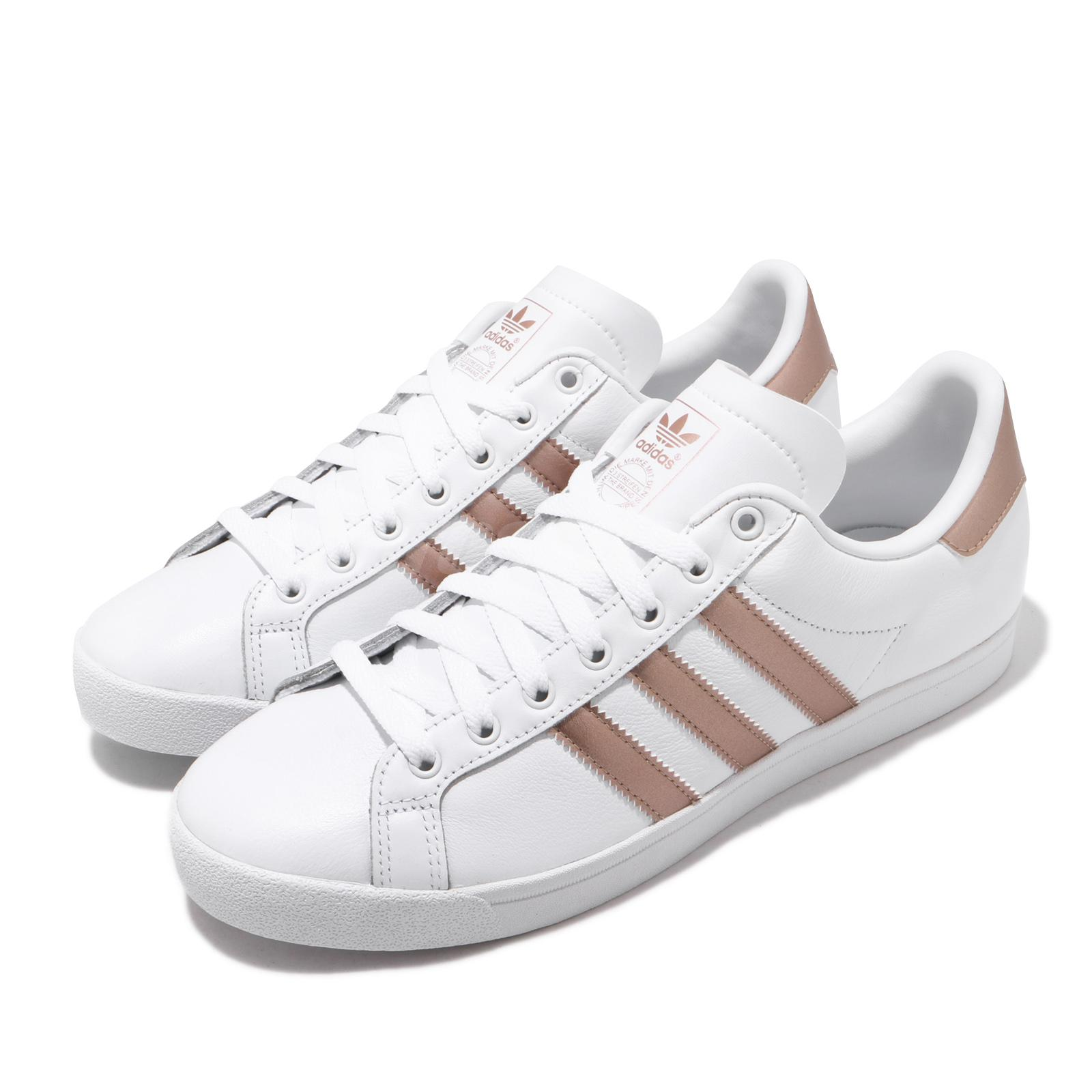 Détails sur adidas Originals Coast Star W White Copper Metallic Women Classic Shoes EE6201
