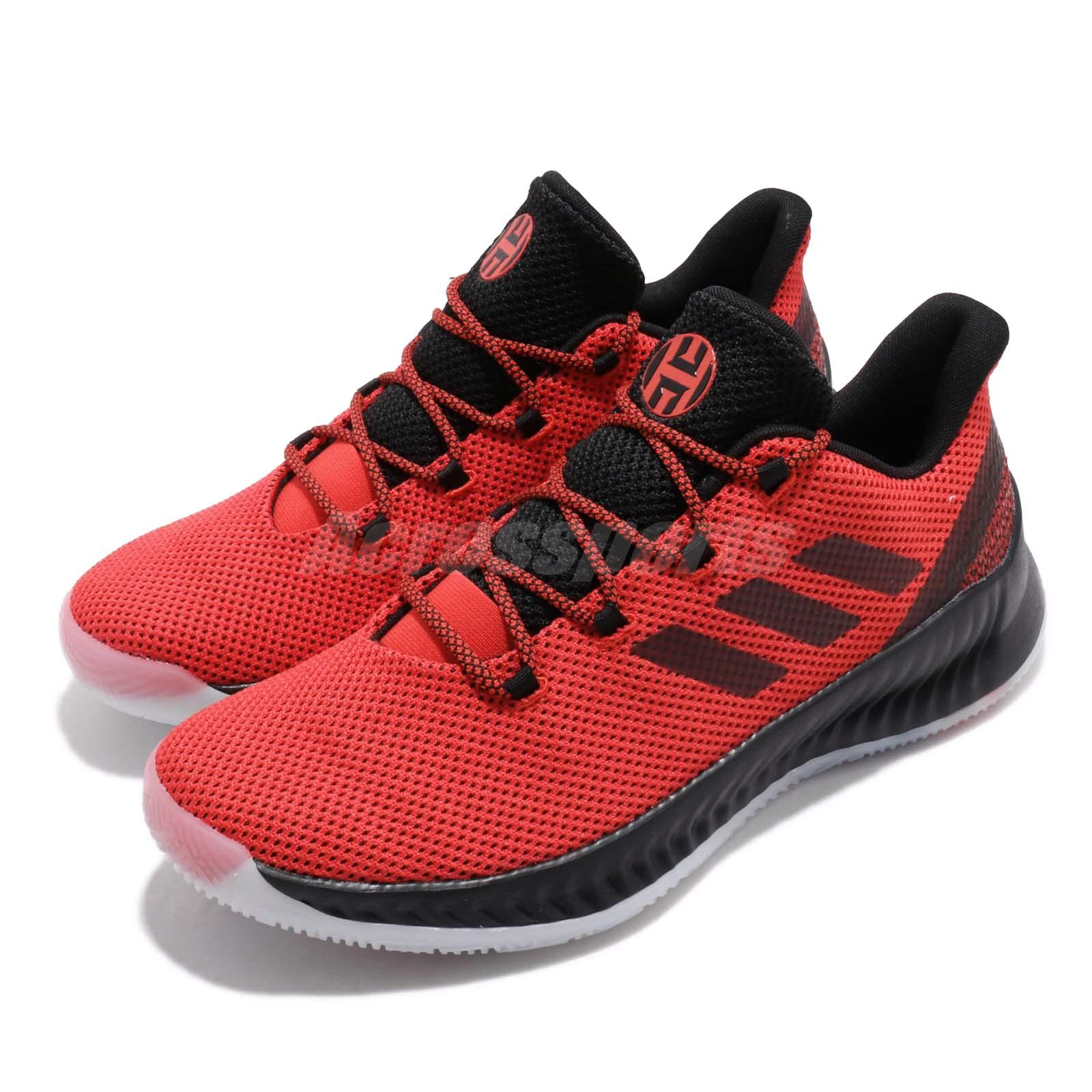 9d7f09dd15bd Details about adidas Harden B E X Geek Up James Red Black Men Basketball  Shoes Sneakers EE7197