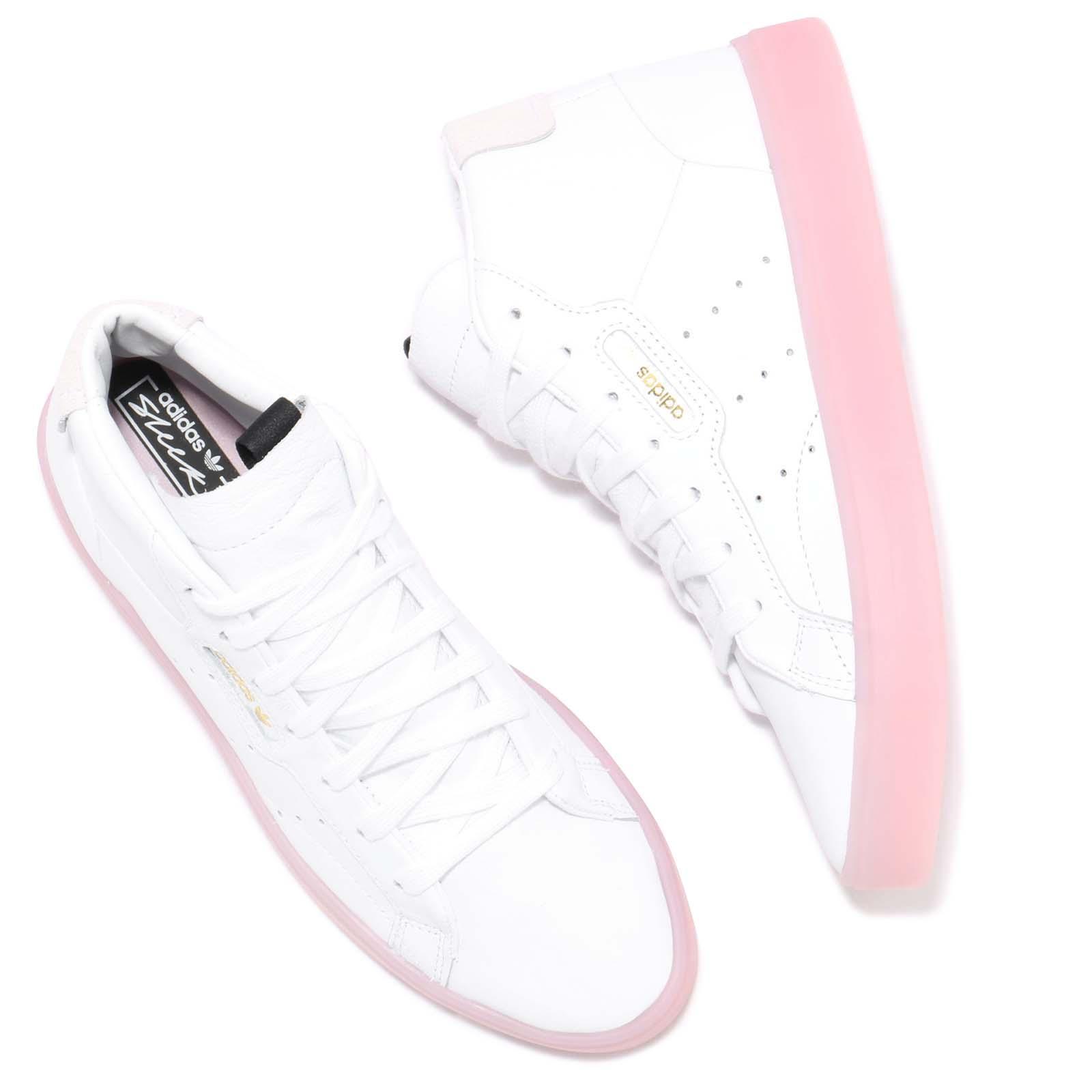 adidas Originals Sleek Mid W White Pink