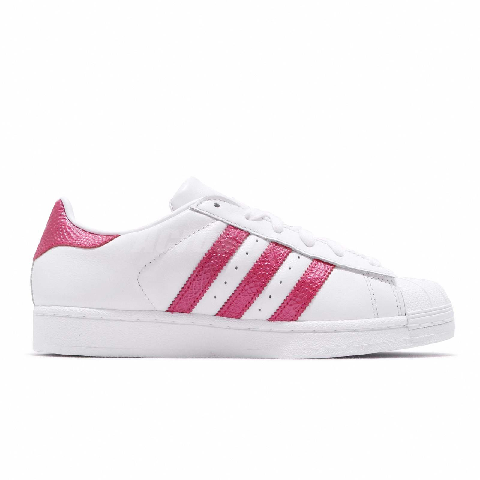 9784840a46e adidas Originals Superstar W White Pink Women Casual Shoes Sneakers ...