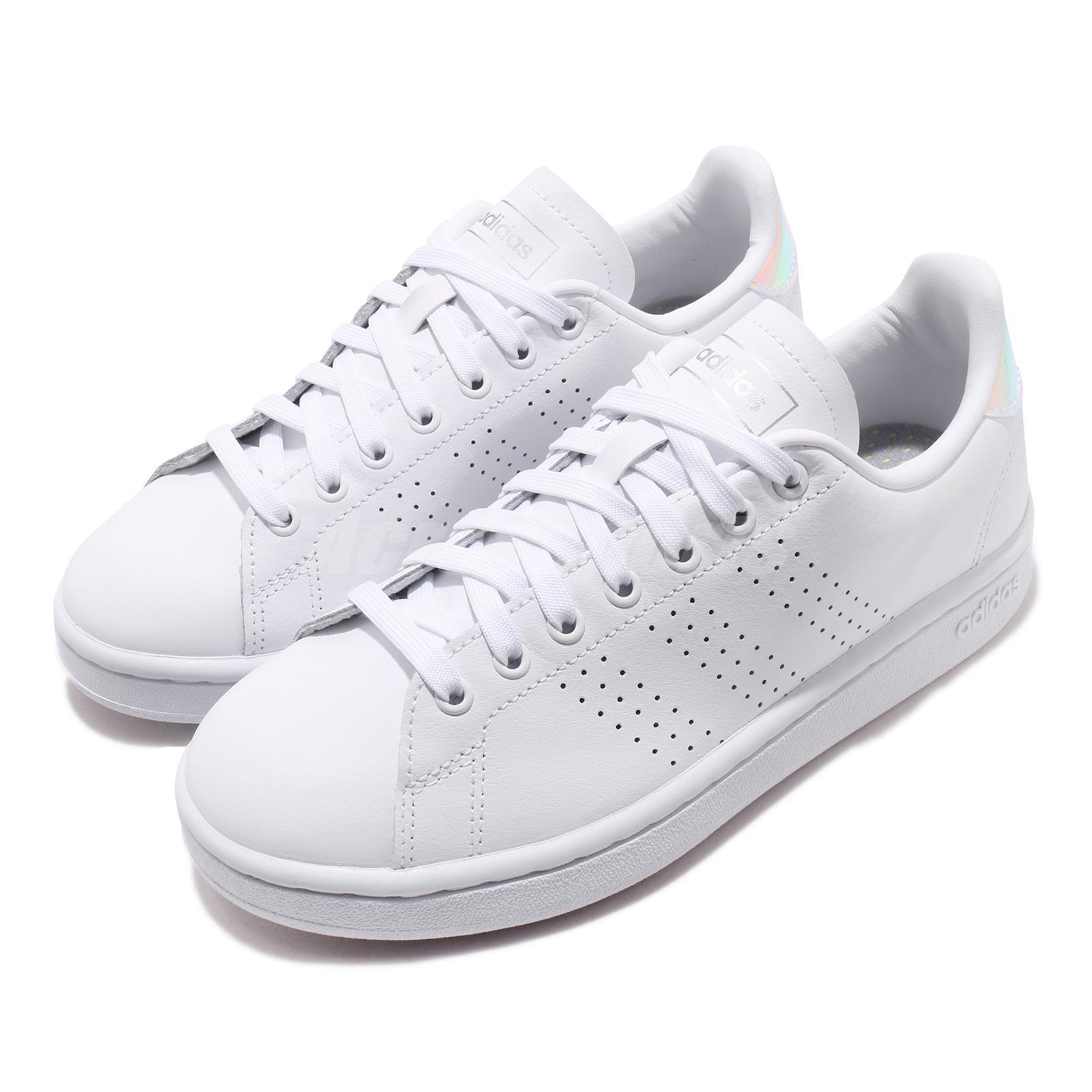 adidas Advantage White Silver