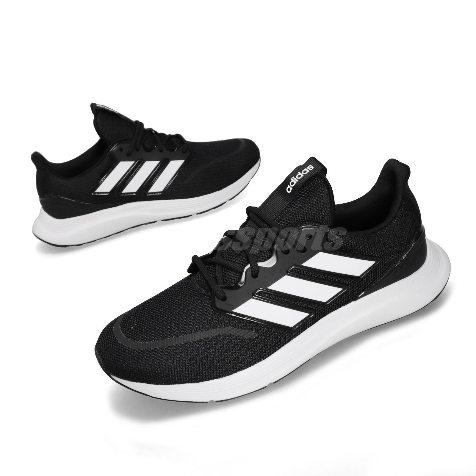 precio loco compra genuina rendimiento superior adidas Energyfalcon Core Black White Mens Running Shoes EE9843   eBay