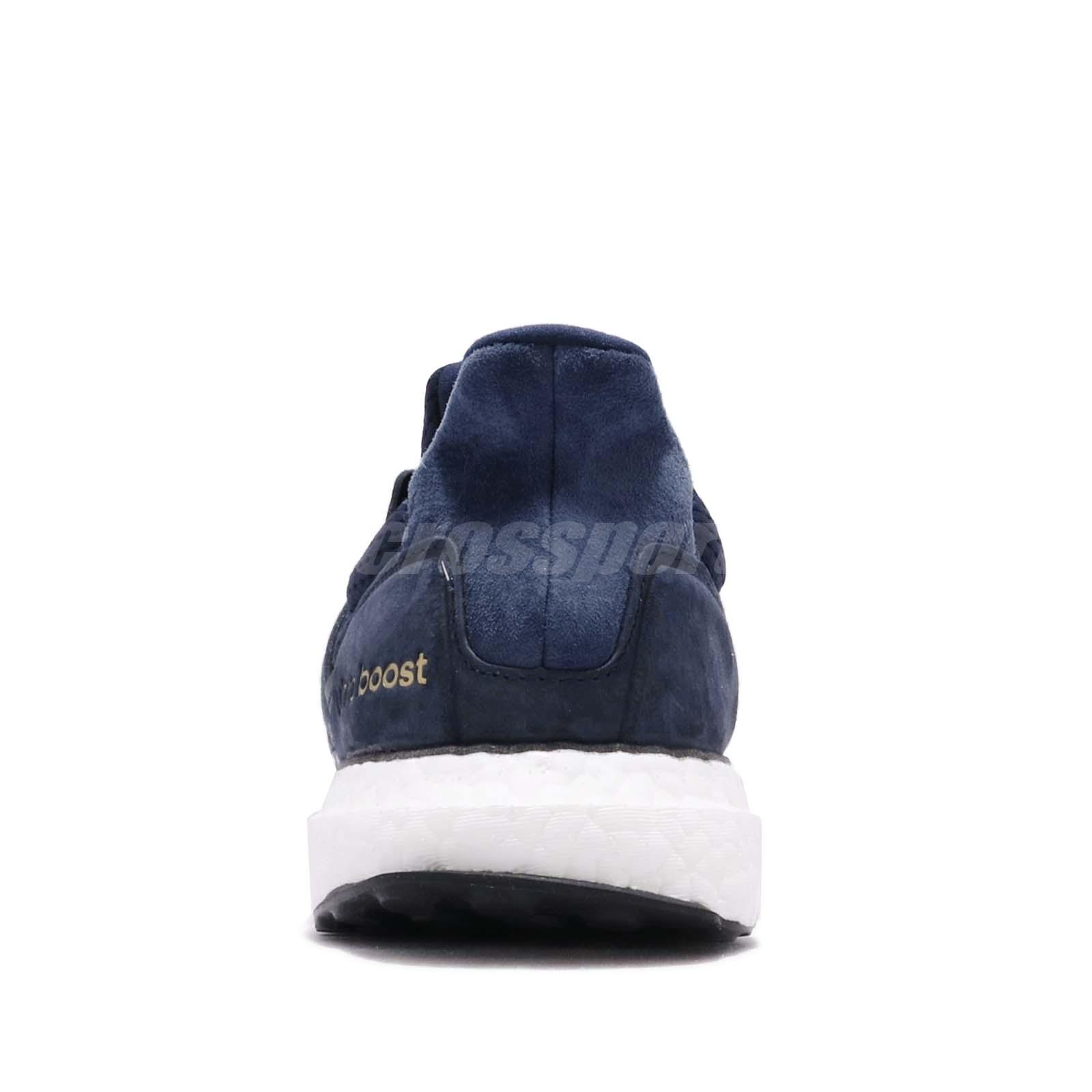 7aaafb25b93 adidas UltraBOOST S L Navy White Gold Men Running Casual Shoes ...