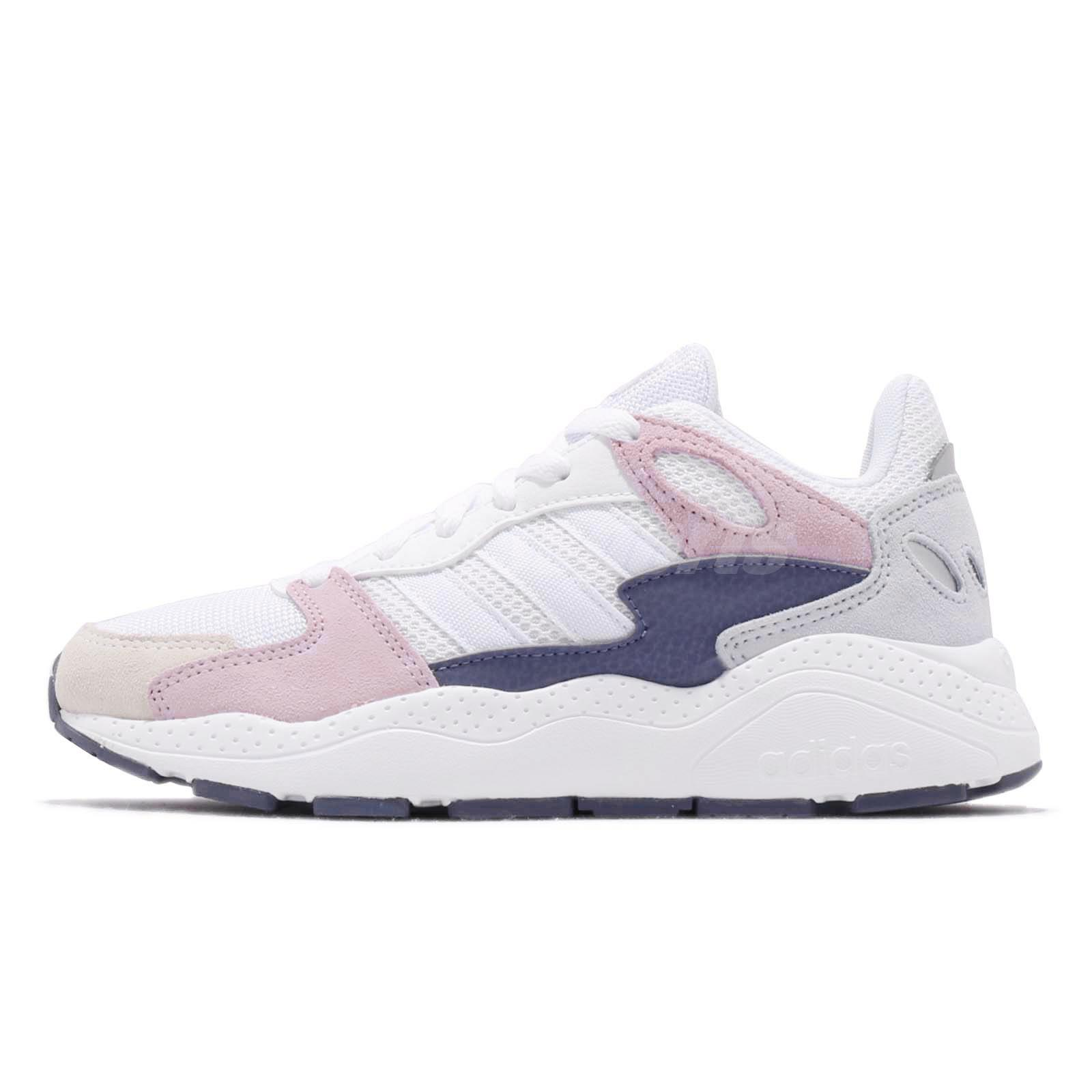 Details about adidas Chaos White Aero Pink Grey Women Running Casual Shoes Sneakers EF1049