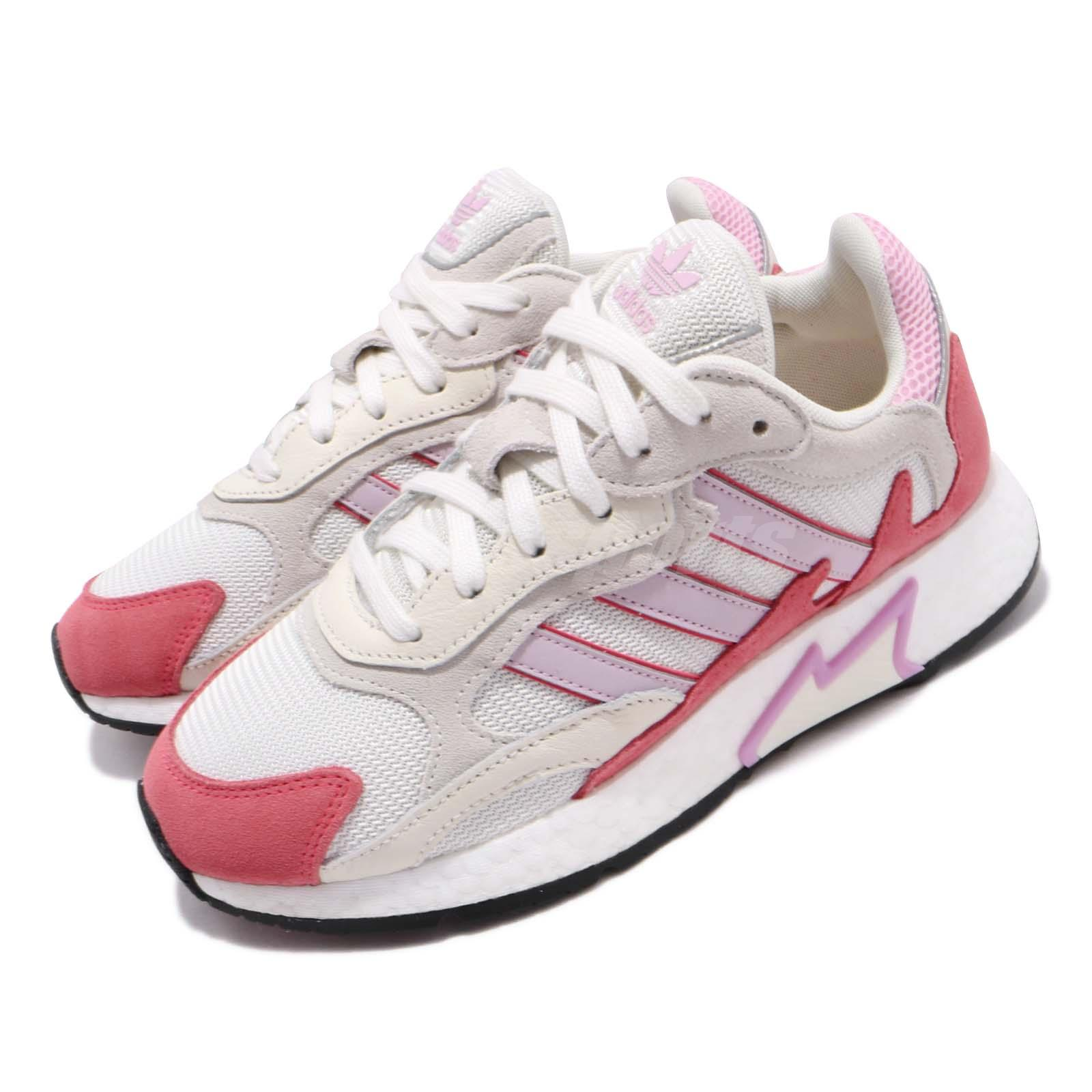 Details about adidas Originals Tresc Run W White Grey Pink Red Womens Running Shoes EF1067