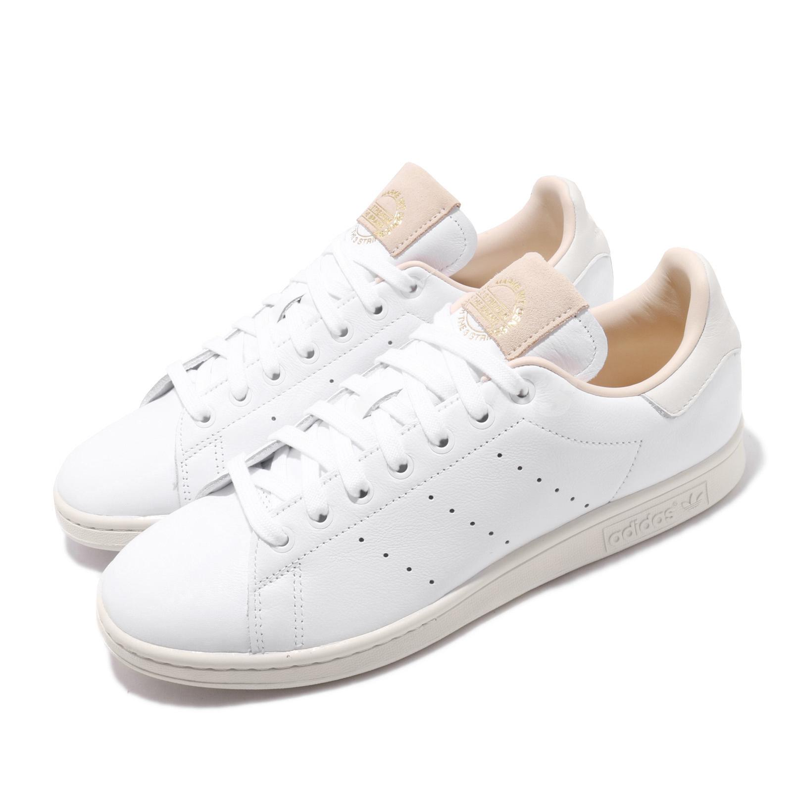 Details about adidas Originals Stan Smith Crystal White Beige Men Classic  Casual Shoes EF2099