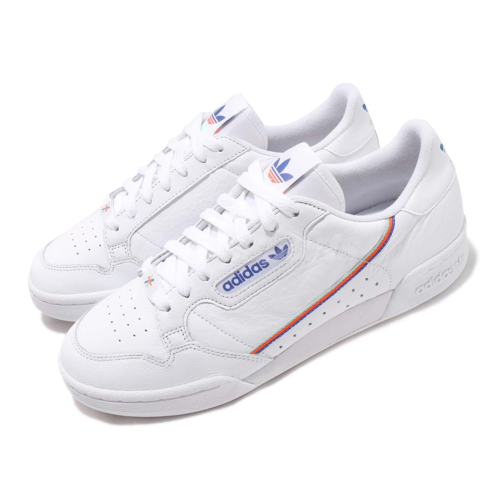 260bd291df Details about adidas Originals Continental 80 White Blue Mens Womens Casual  Shoes EF2820