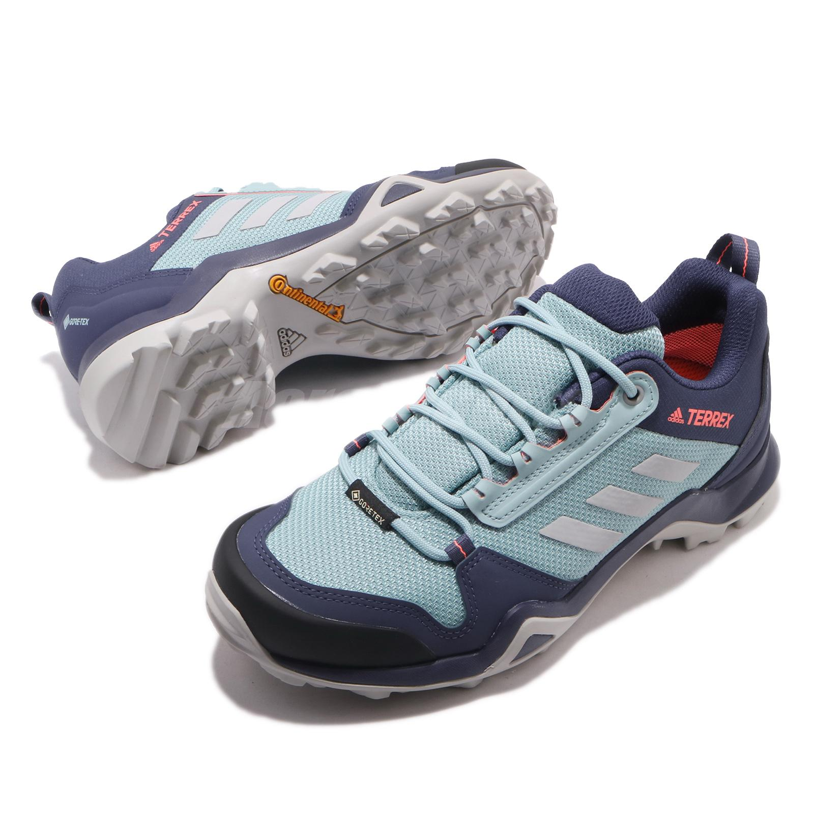 Details about adidas Terrex AX3 GTX W Gore-Tex Tech Indigo Blue Women  Outdoors Hiking EF3511