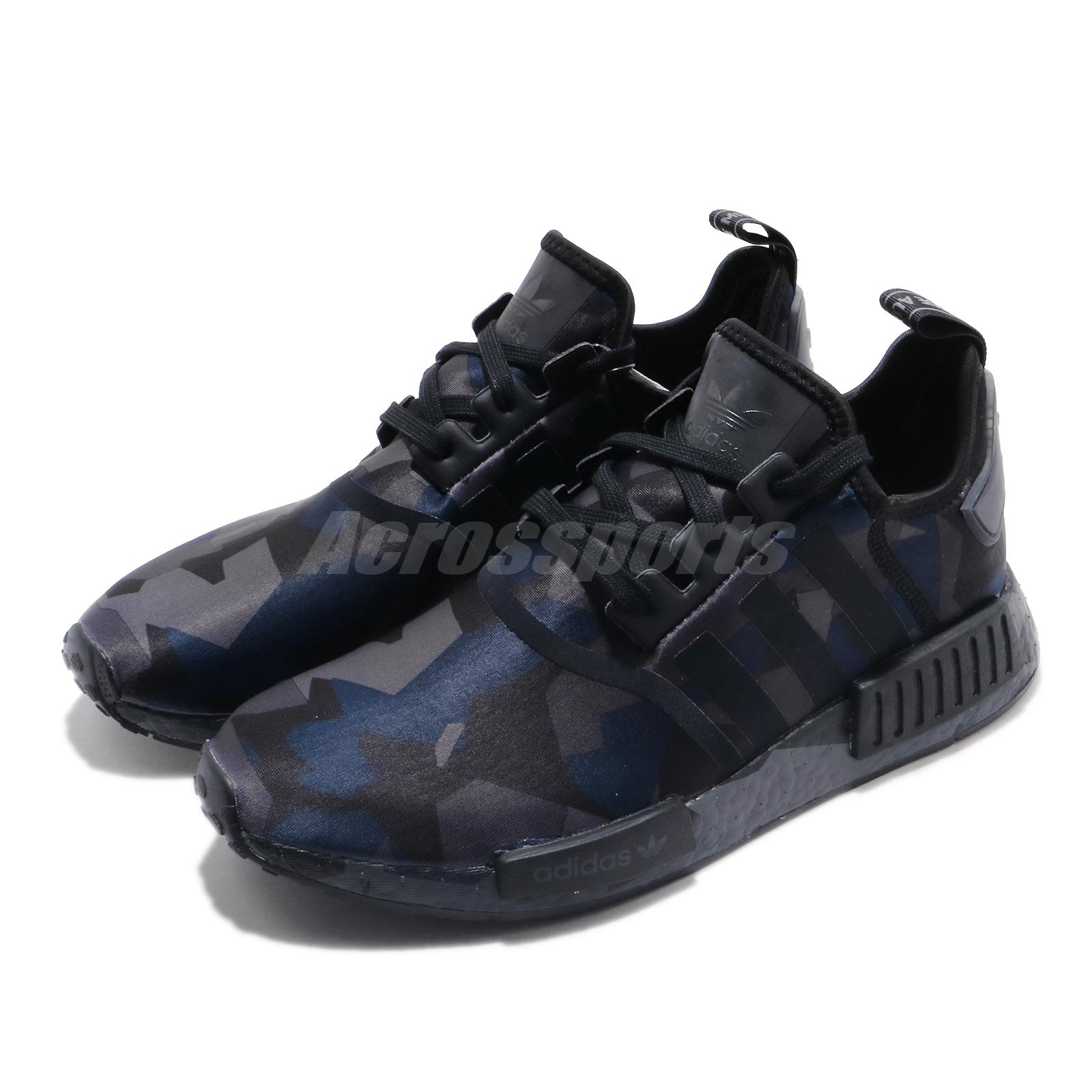 Adidas Originals Nmd R1 Shoe Mens Casual 11 5 Black Grey
