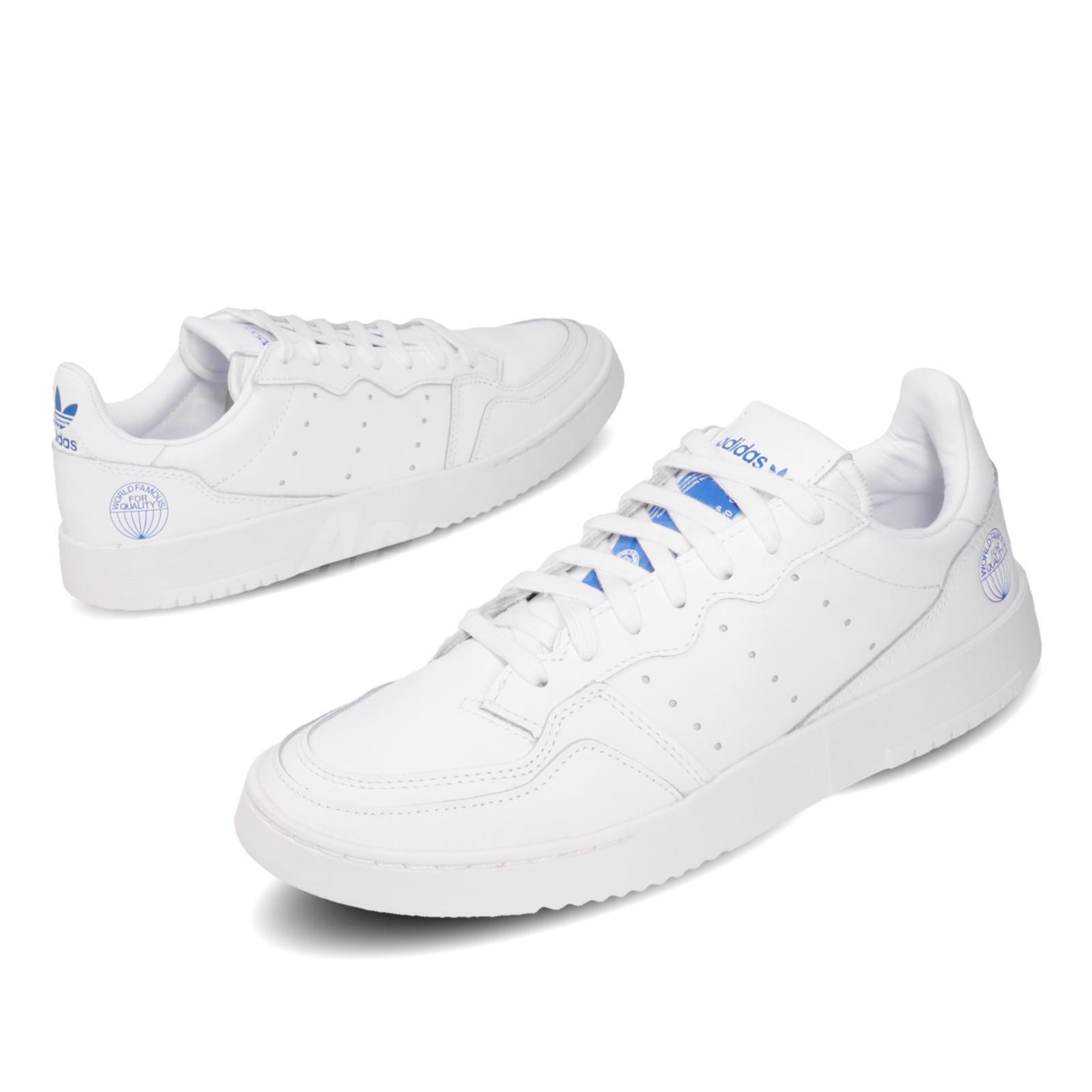 adidas Originals Supercourt World Famous For Quality White Blue ...
