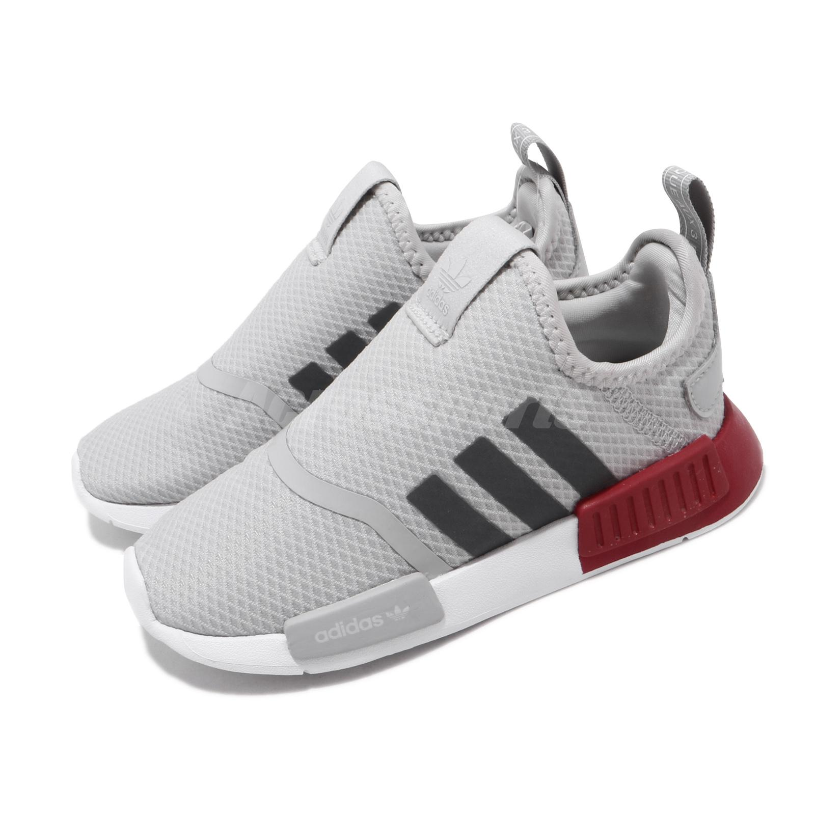 adidas NMD 360 I Grey Red Infant Baby