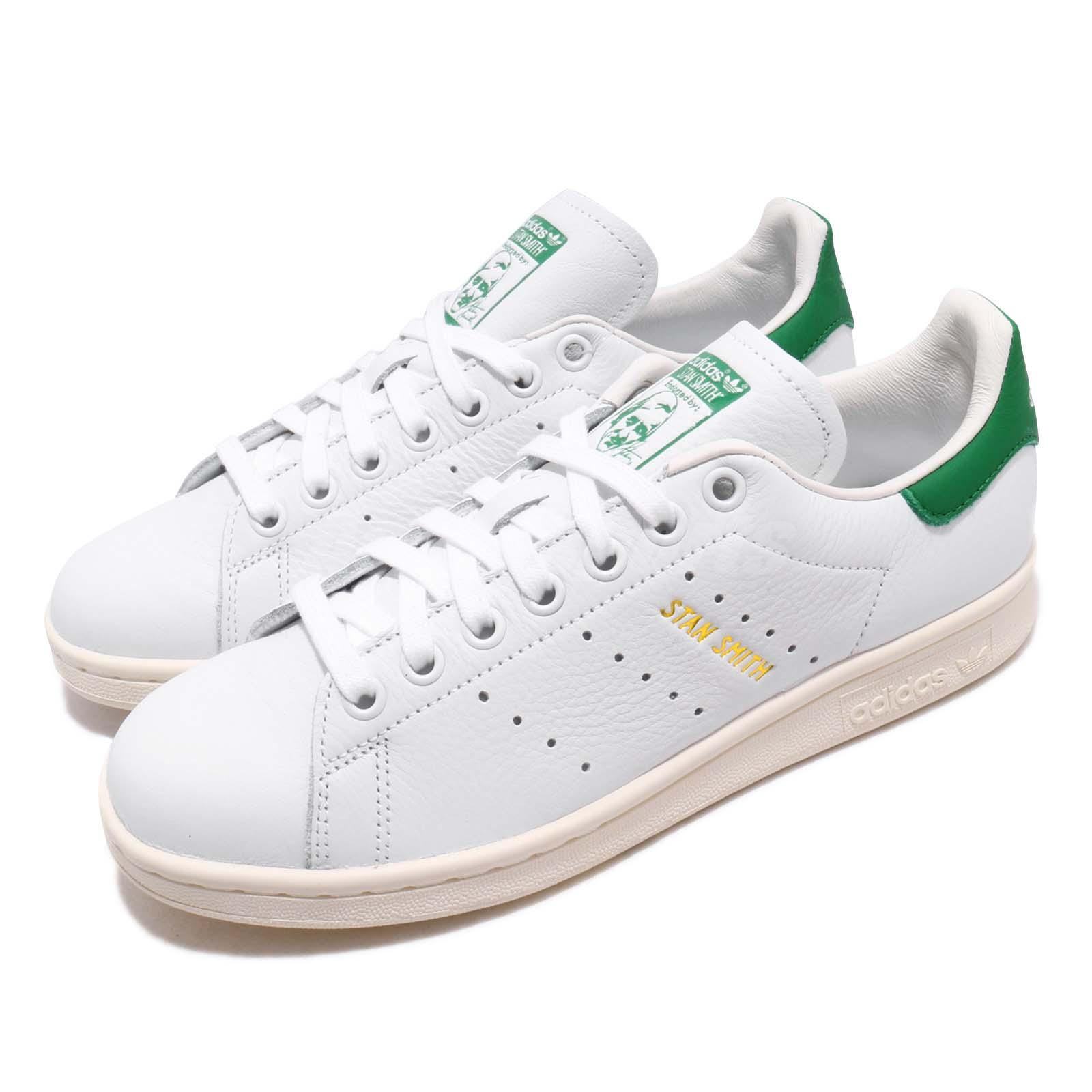 size 40 db326 8b3d6 Details about adidas Originals Stan Smith Forever White Green Men Casual  Shoes Sneakers EF7508