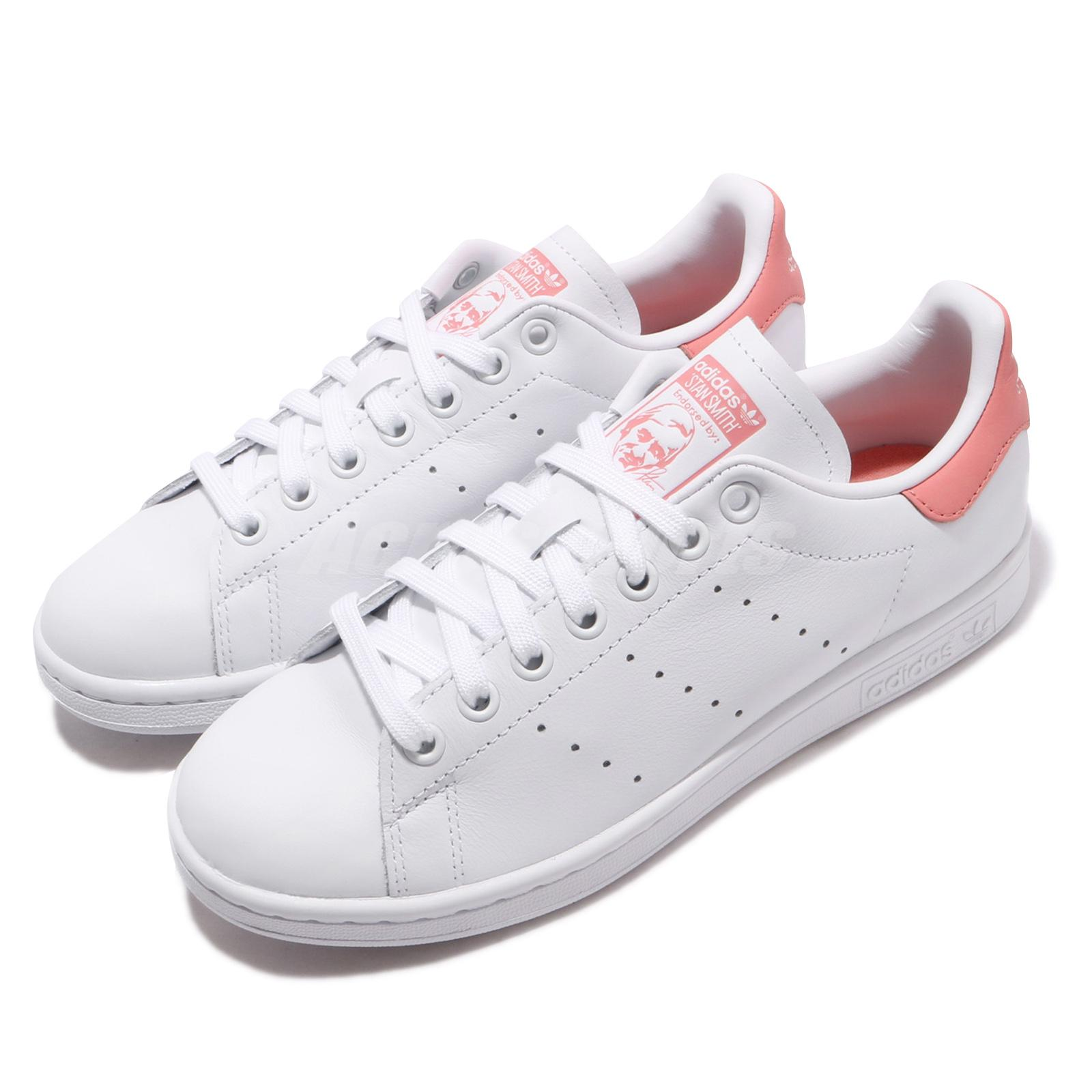 official photos 1cdf0 66c24 Details about adidas Originals Stan Smith W Tactile Rose Pink White Women  Casual Shoes EF9319