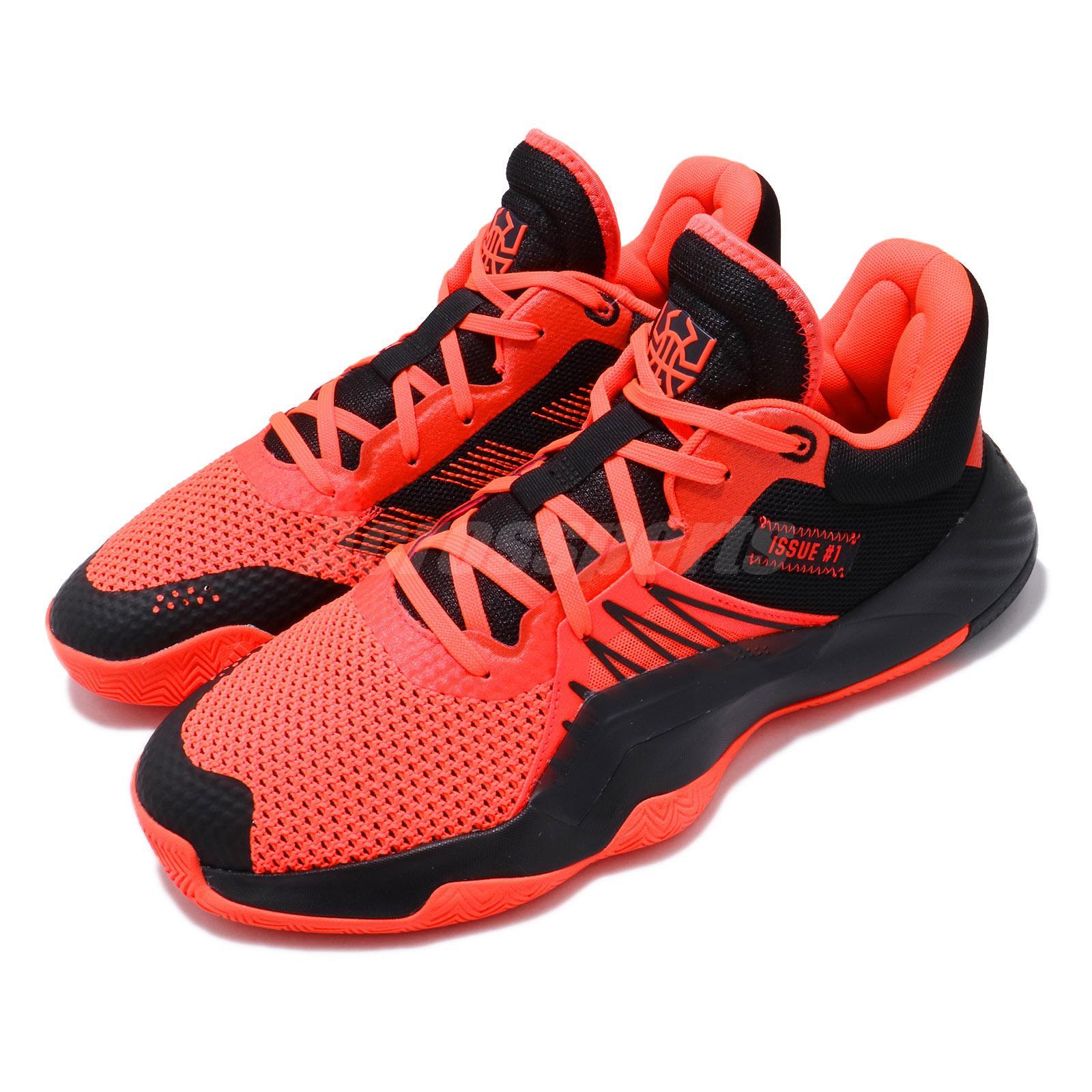 adidas D.O.N. Issue 1 GCA Orange Black