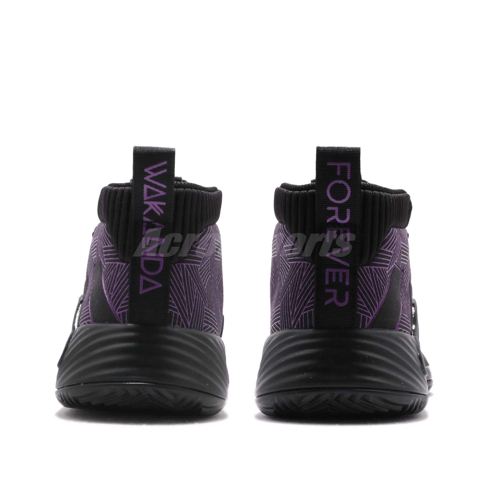 Adidas Dame 5 Black Panther, Men's Fashion, Footwear