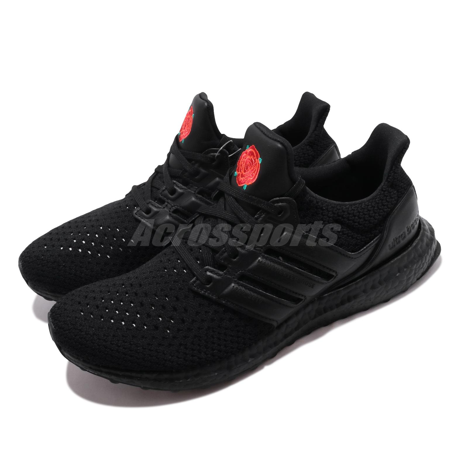 Adidas Ultraboost X Manu Fc Manchester United Rose Black Red Men Shoes Eg8088 Ebay
