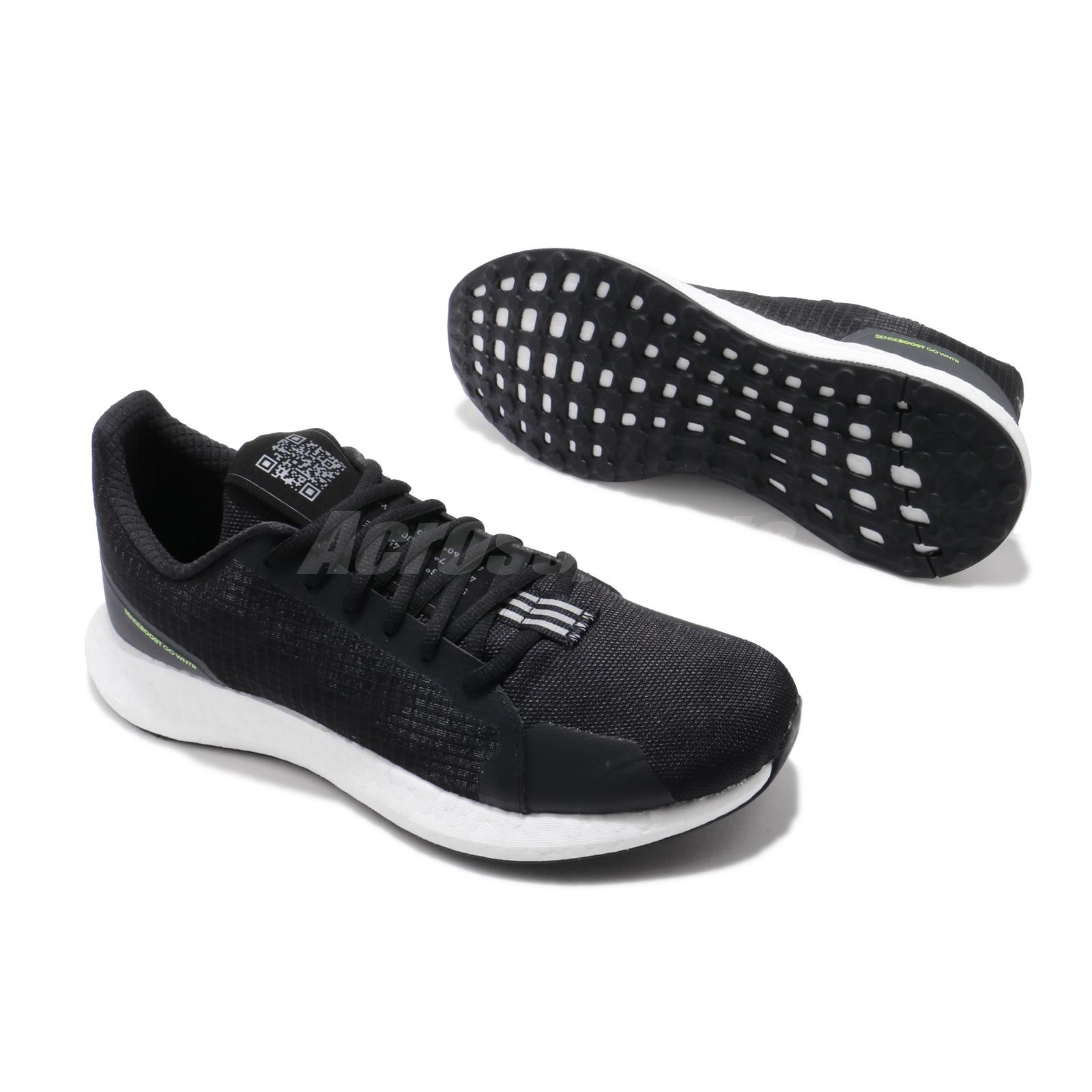 adidas SenseBOOST Go WNTR M Black Winter Mens Running Shoes Lifestyle EH1026