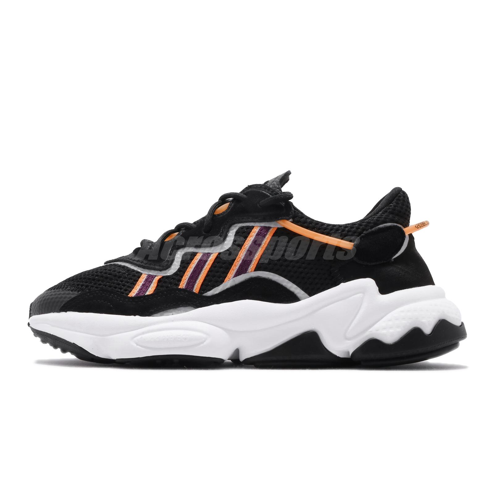 Details about adidas Originals Ozweego W Black Purple Orange Womens  Lifestyle Shoes EH3219