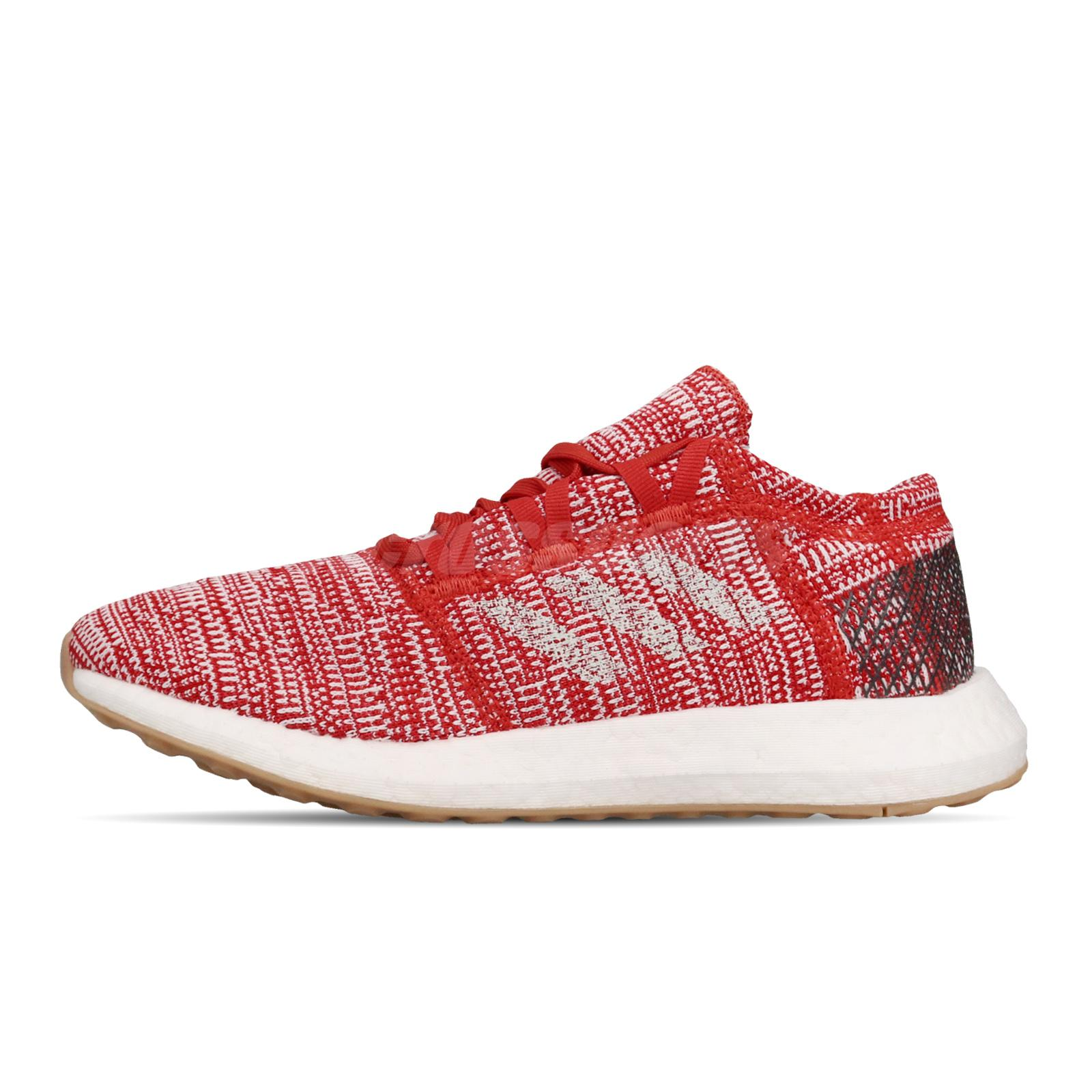 Details about adidas PureBOOST Go J Red White BOOST Womens Running Shoes F34006