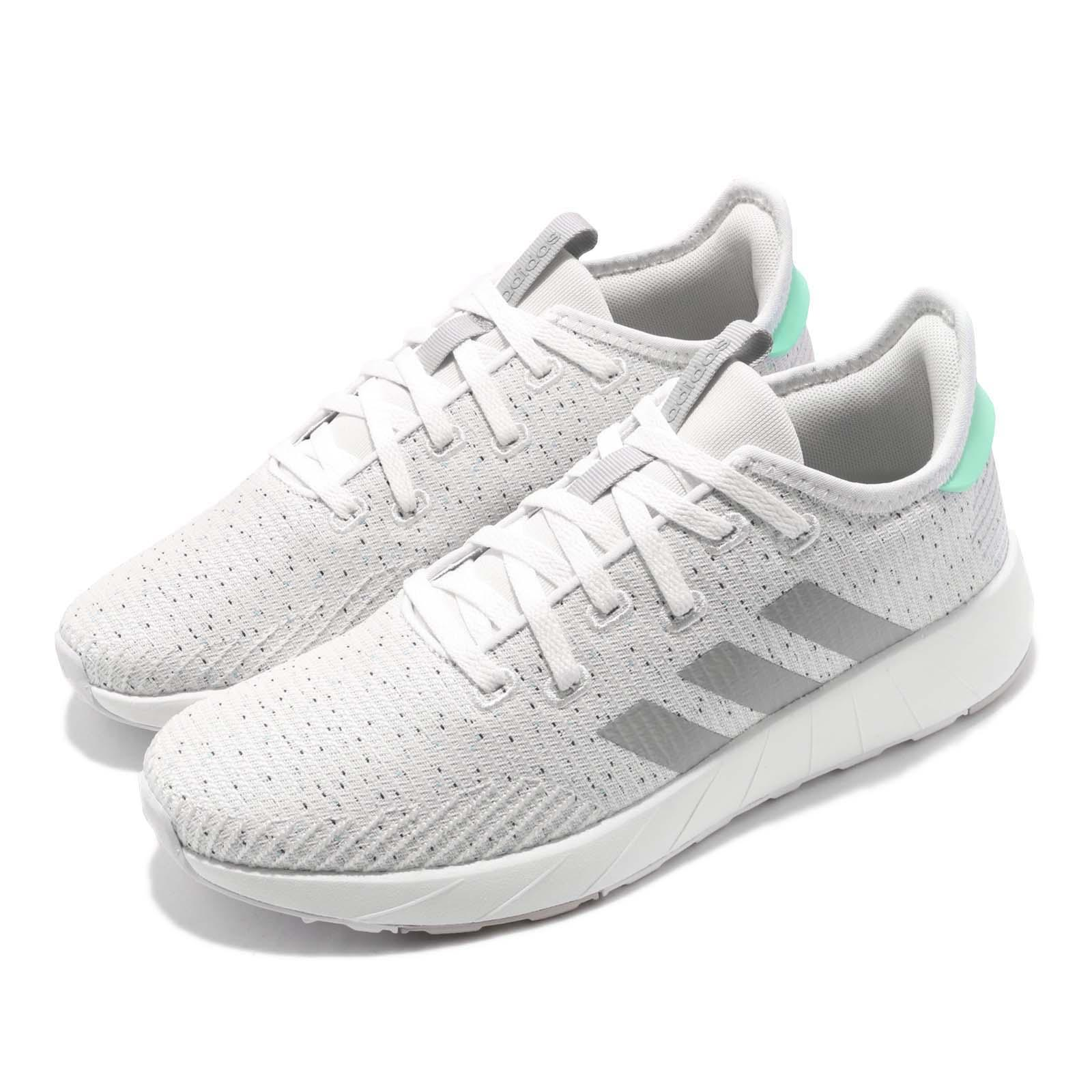 cute high fashion discount sale Details about adidas Questar X BYD White Grey Ice Mint Women Running Shoes  Sneakers F34651