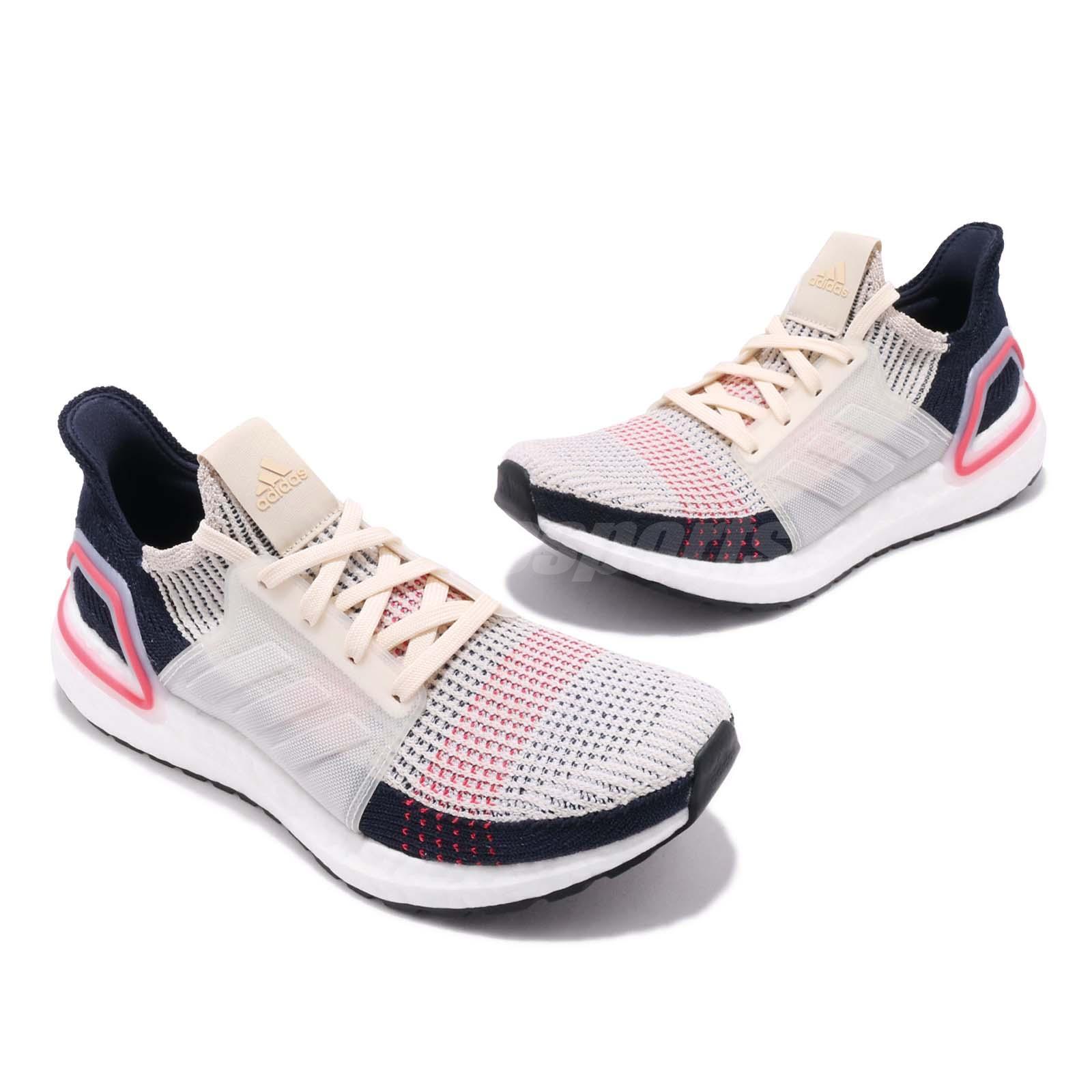 26b2644cc adidas UltraBoost 19 Clear Brown Legend Ink Women Running Shoes ...
