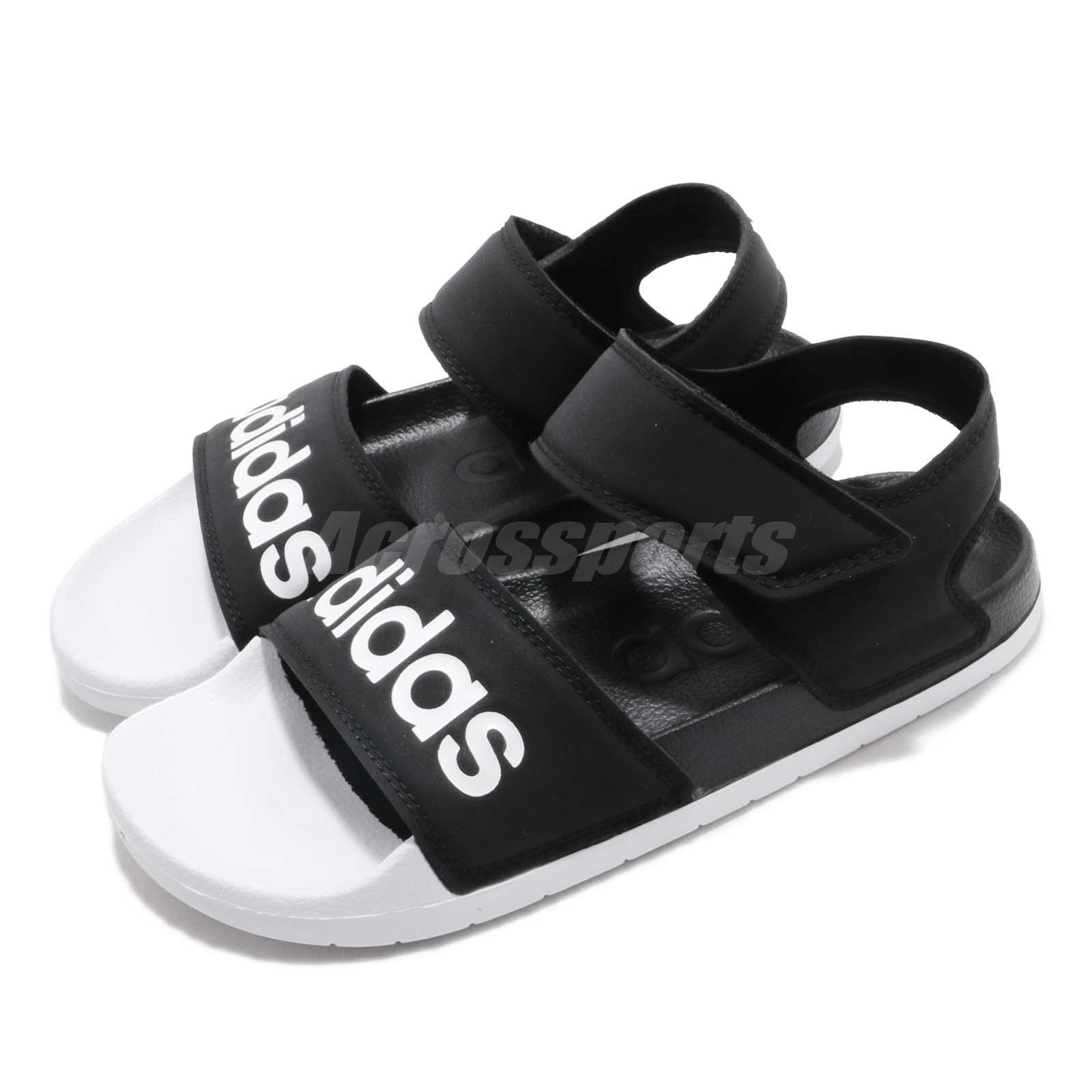 43c11b90d85c Details about adidas Adilette Sandal Black White Men Women Slip On Sports  Sandals F35416