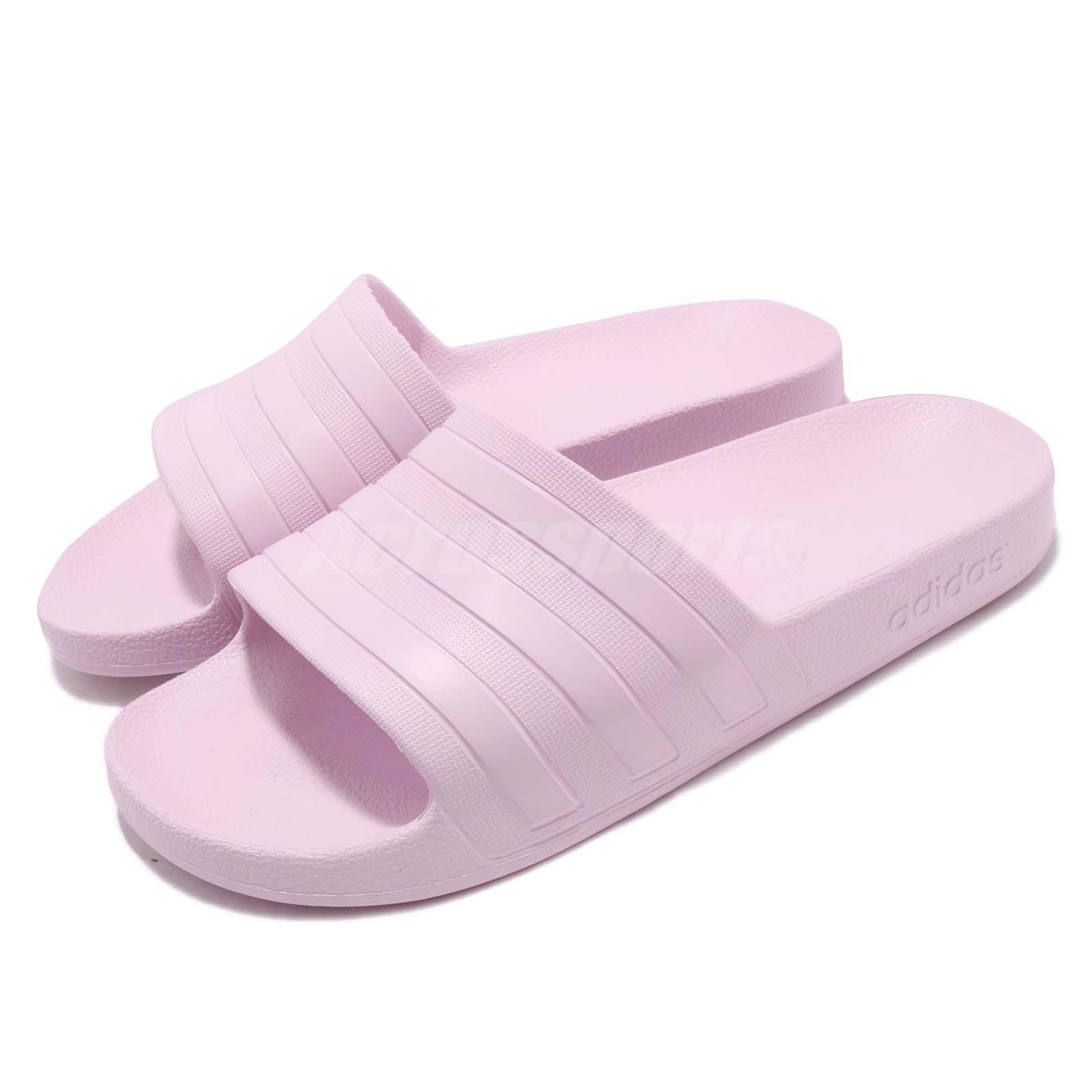 Tableta condón La nuestra  adidas Adilette Aqua Slides Aero Pink Men Women Sports Sandals Slippers  F35547 | eBay