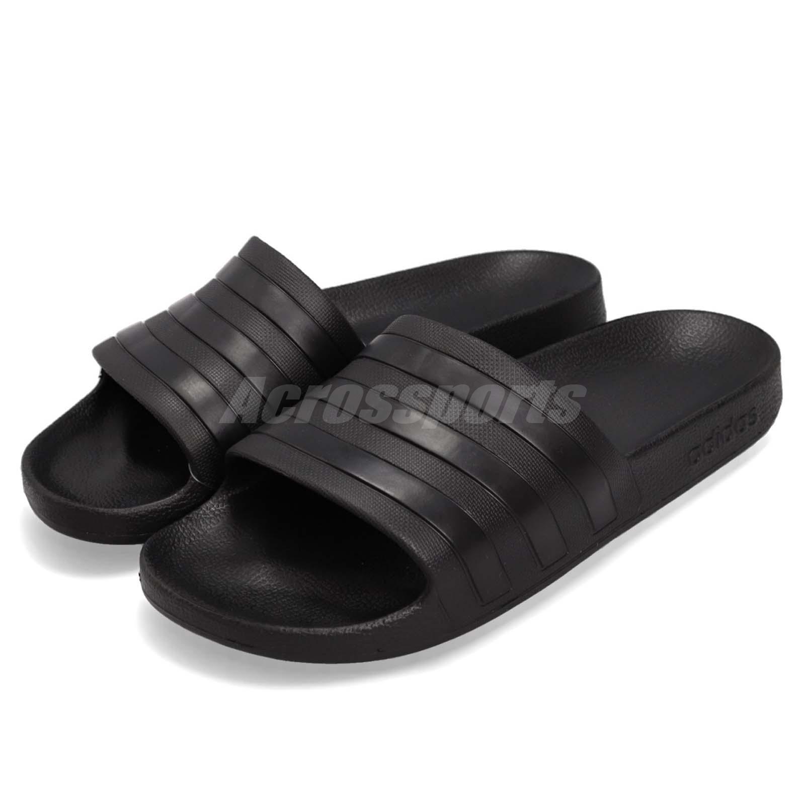 adidas black slippers - 63% remise