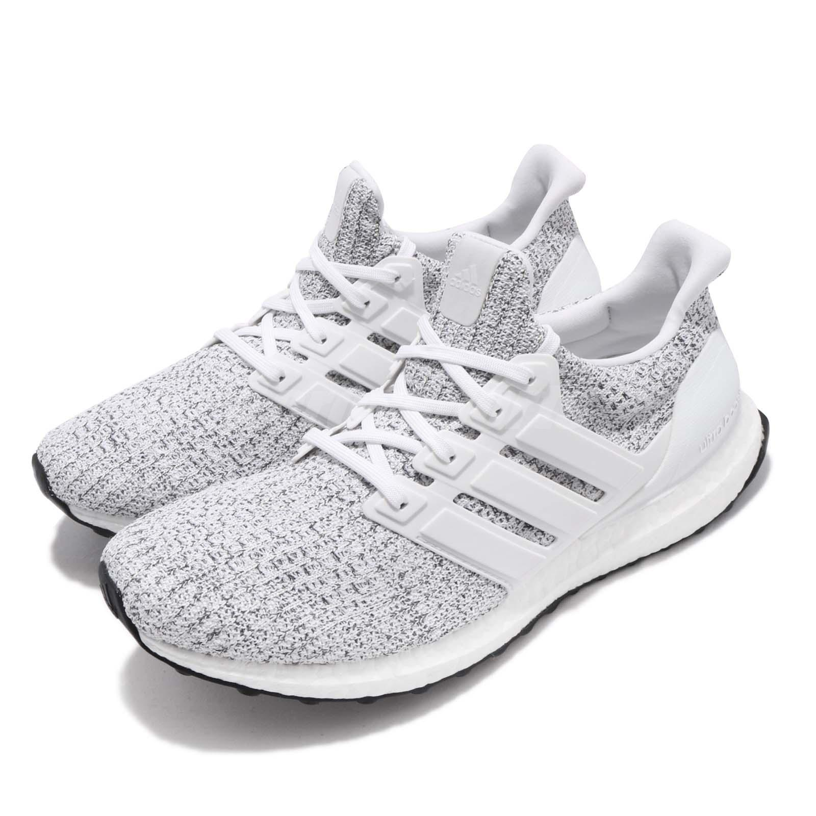 f70e904e2 adidas UltraBOOST Non Dyed White Grey Men Running Casual Shoes ...