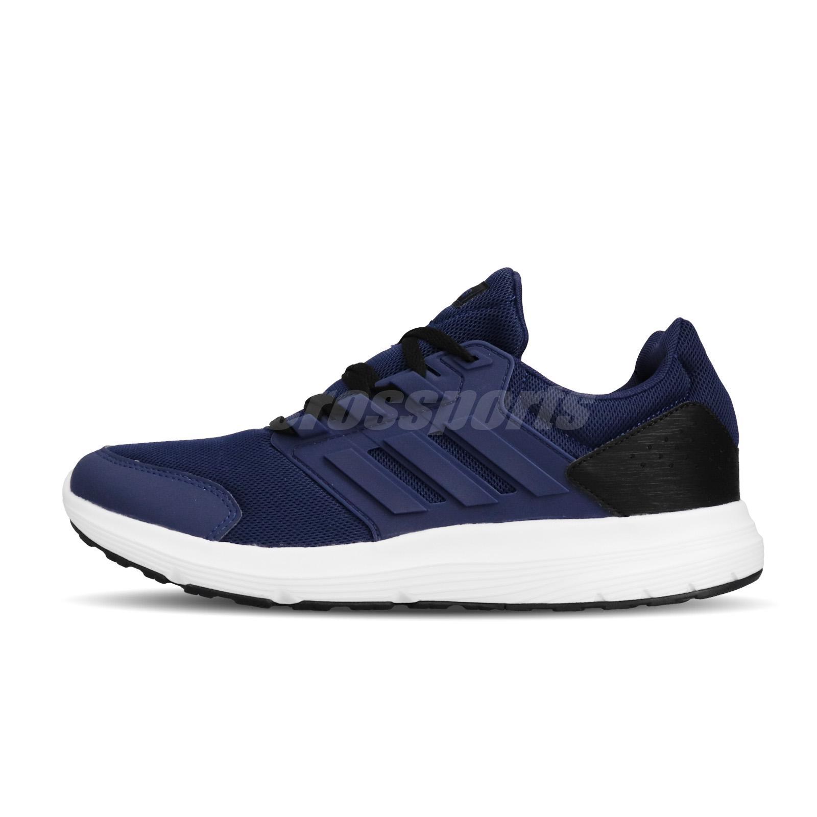 Neu Details about adidas Galaxy 4 Dark Blue Black White Men
