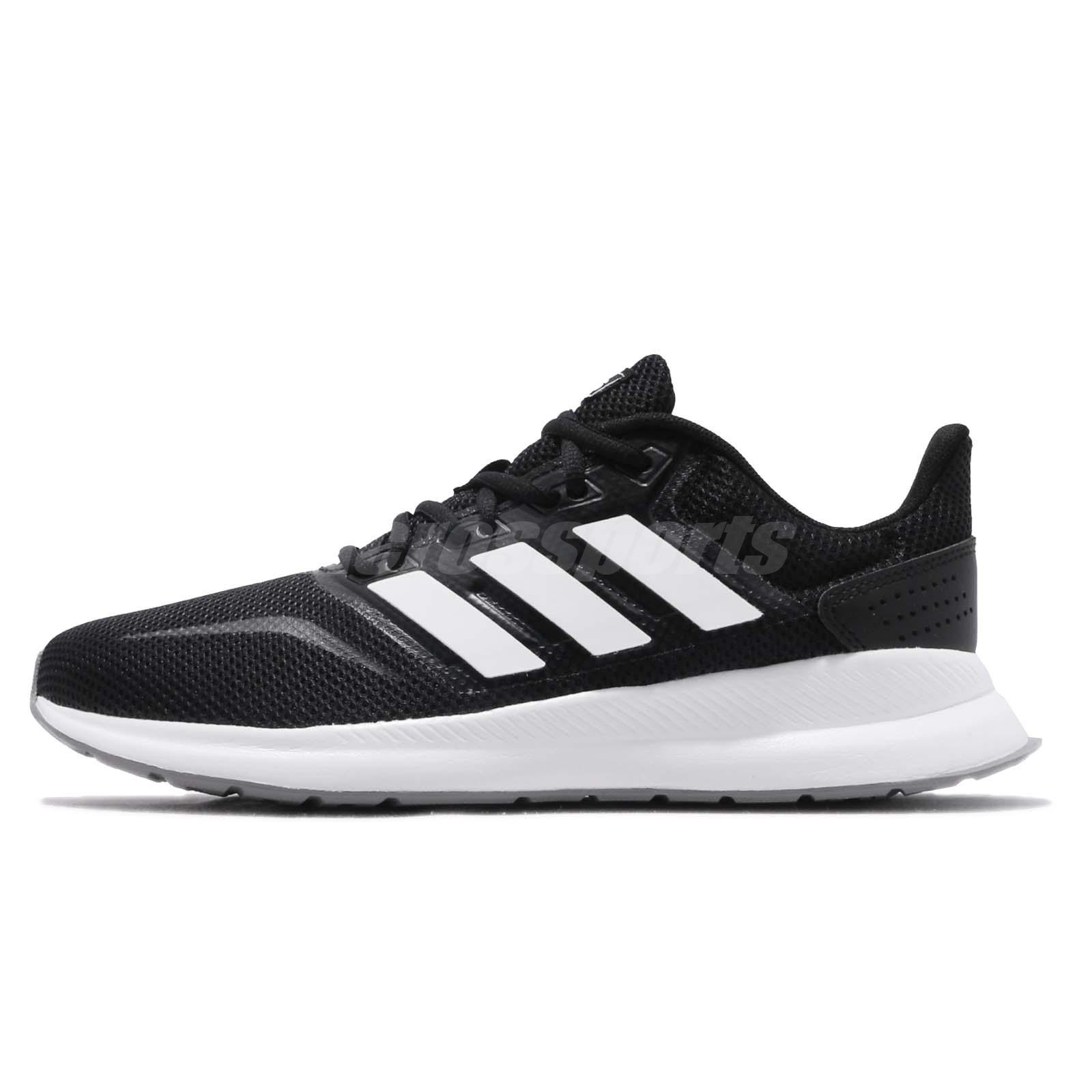 selva paso paridad  adidas Runfalcon Black White Grey Men Running Training Shoes Sneakers F36199    eBay