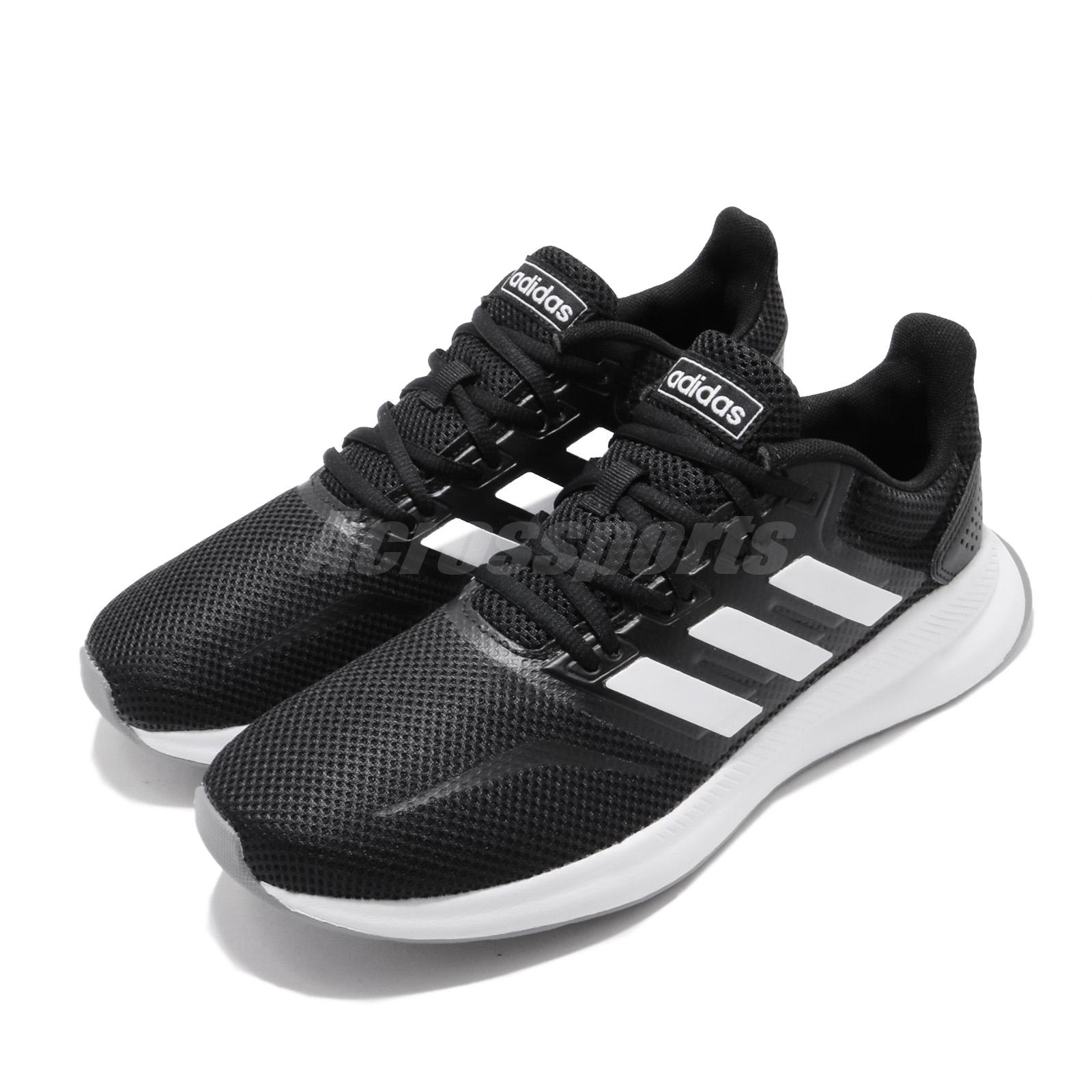 adidas Runfalcon Black White Grey Women