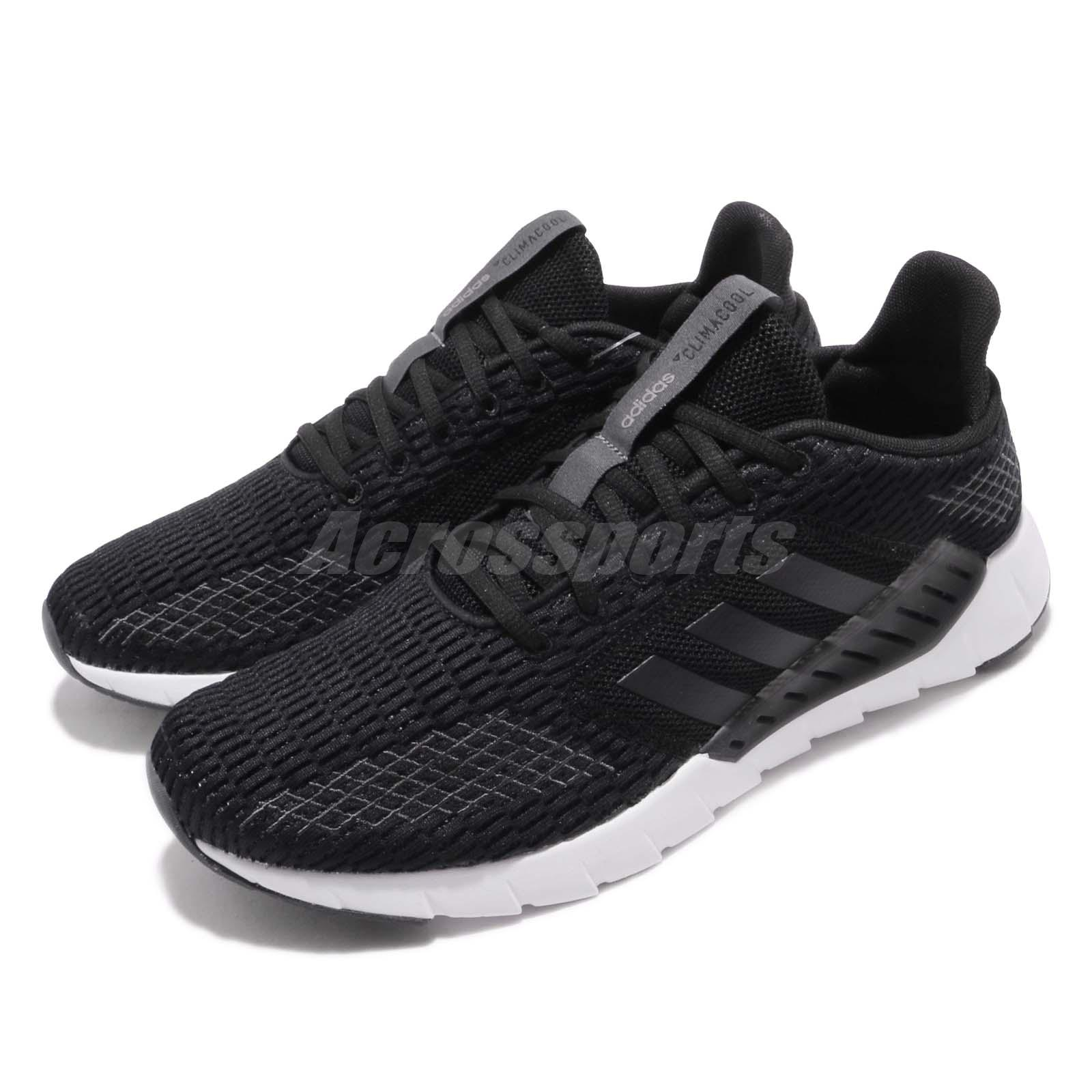 9f8e9233f6e Details about adidas Asweego CC Black Grey White Men Running Casual Shoes  Sneakers F36324