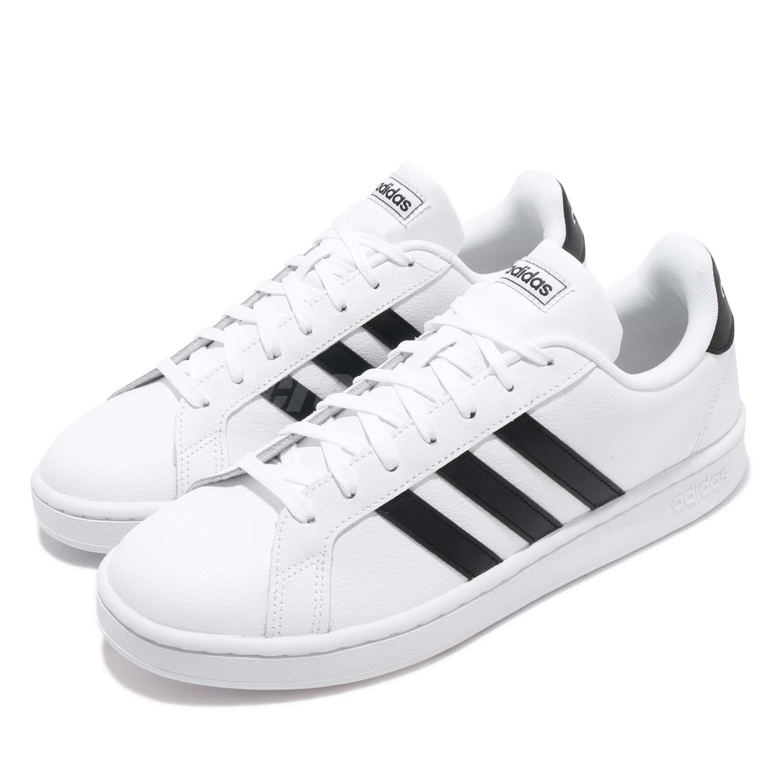 Casual White Court Lifestyle Grand Men Shoes Adidas Classic