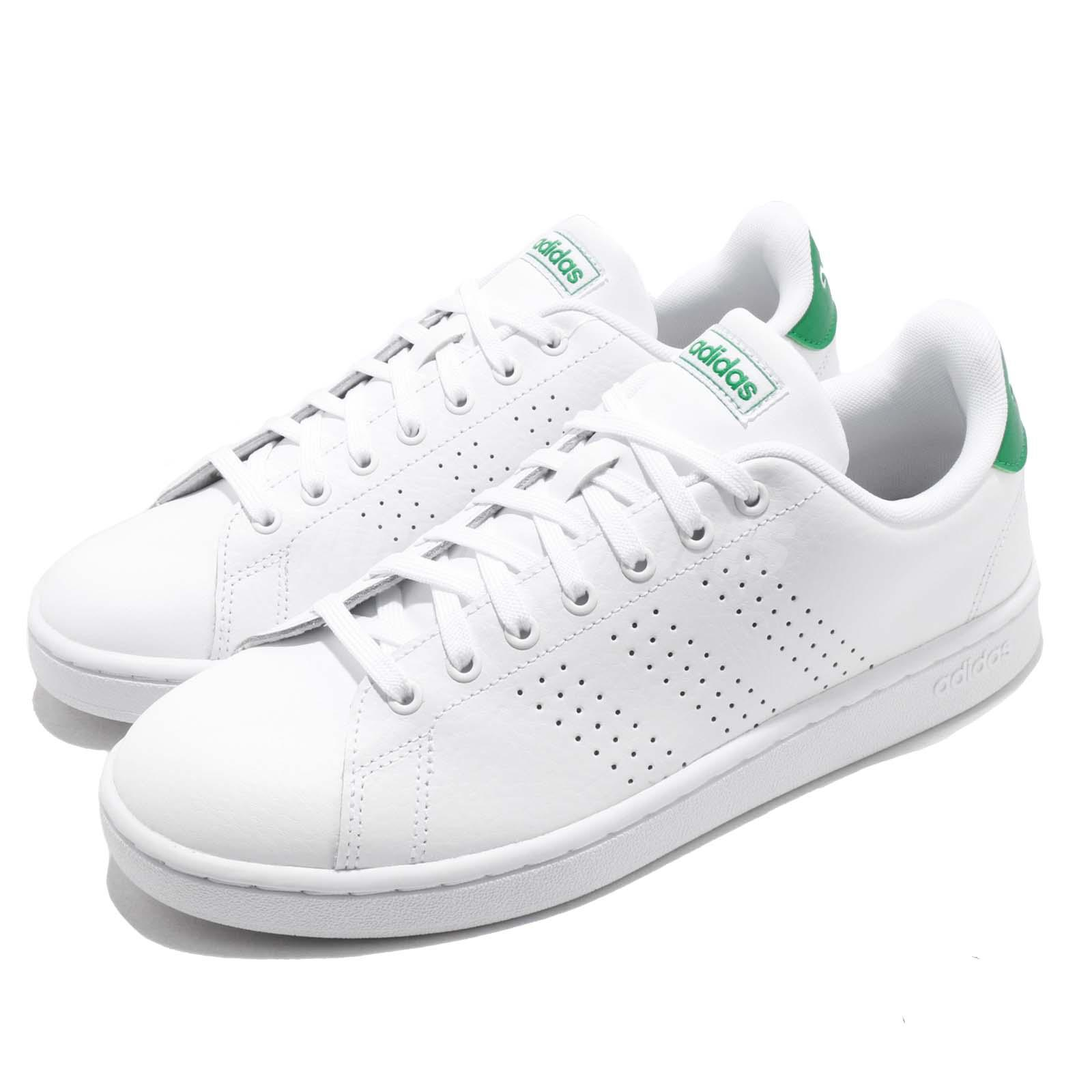 Details about adidas Neo Advantage White Green Men Casual Lifestyle Shoes Sneakers F36424