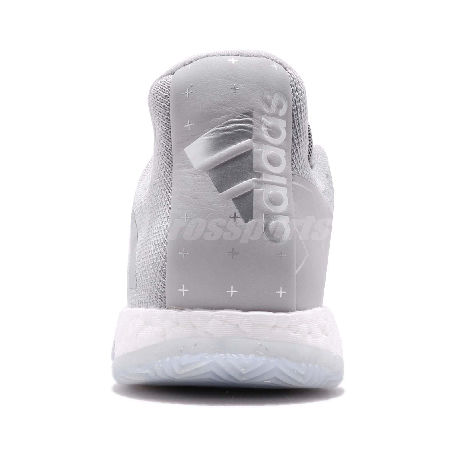 c1544cc41f96 adidas Harden Vol. 3 Boost James Grey White Men Basketball Shoes ...