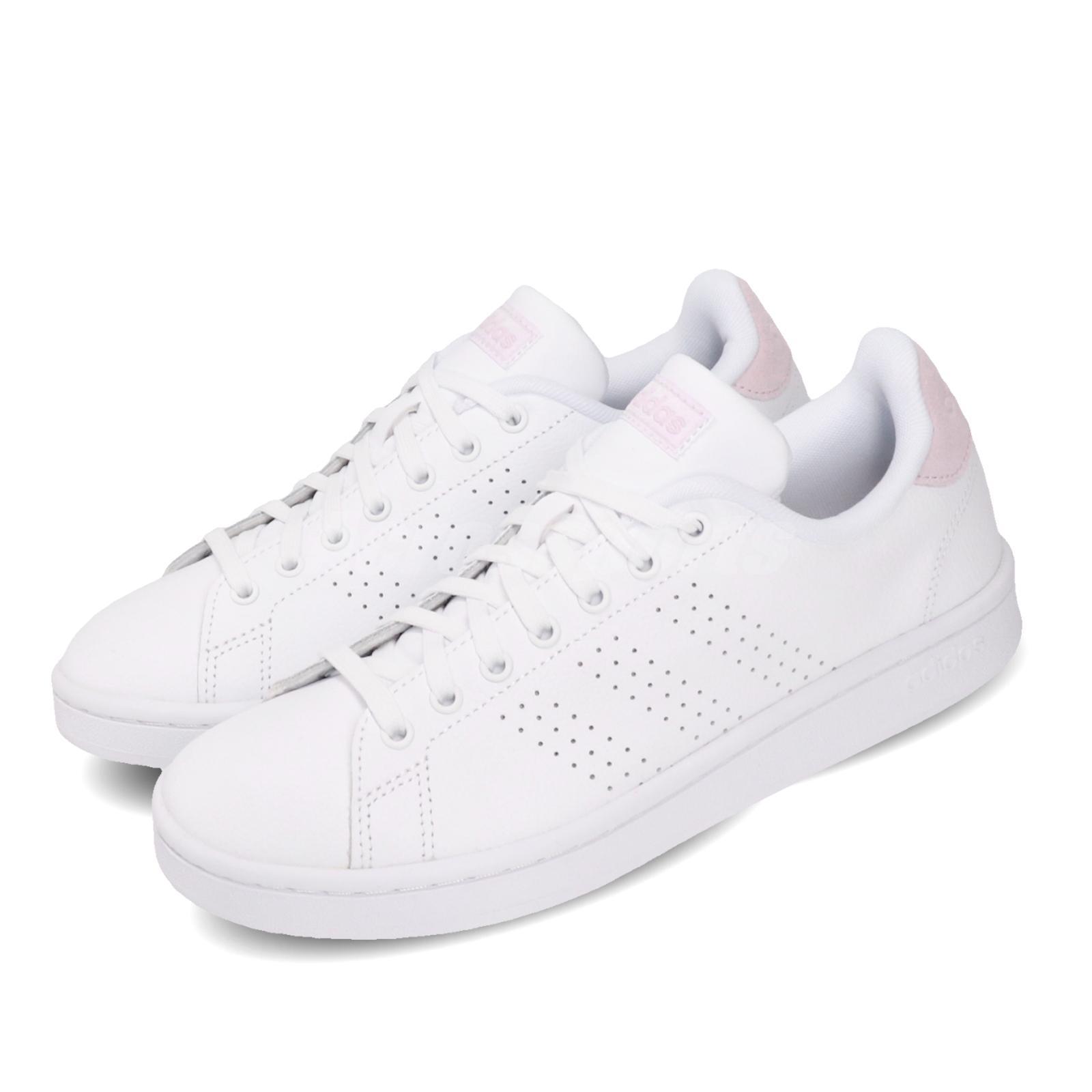 adidas Advantage White Pink Women