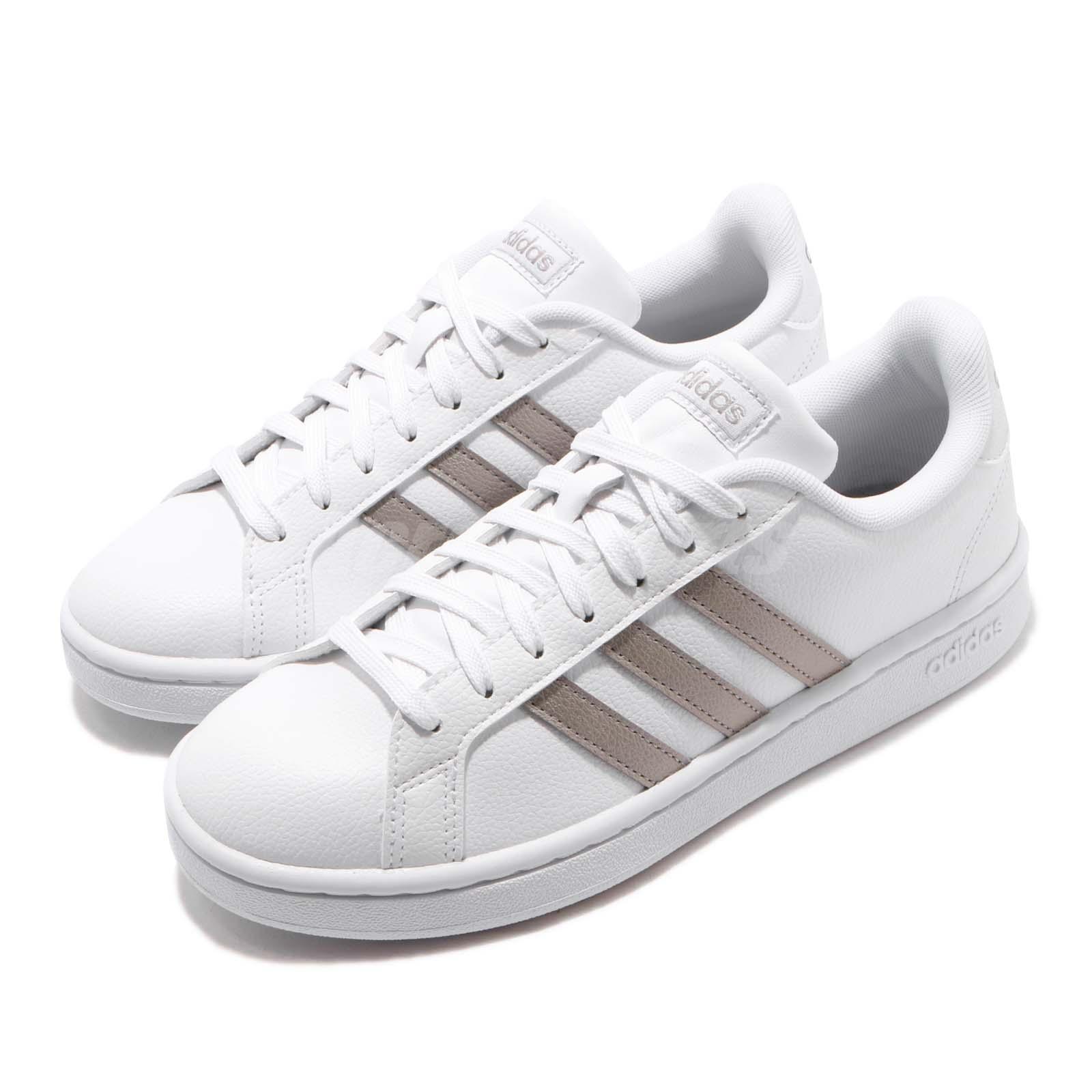 adidas grand court donna white platinum