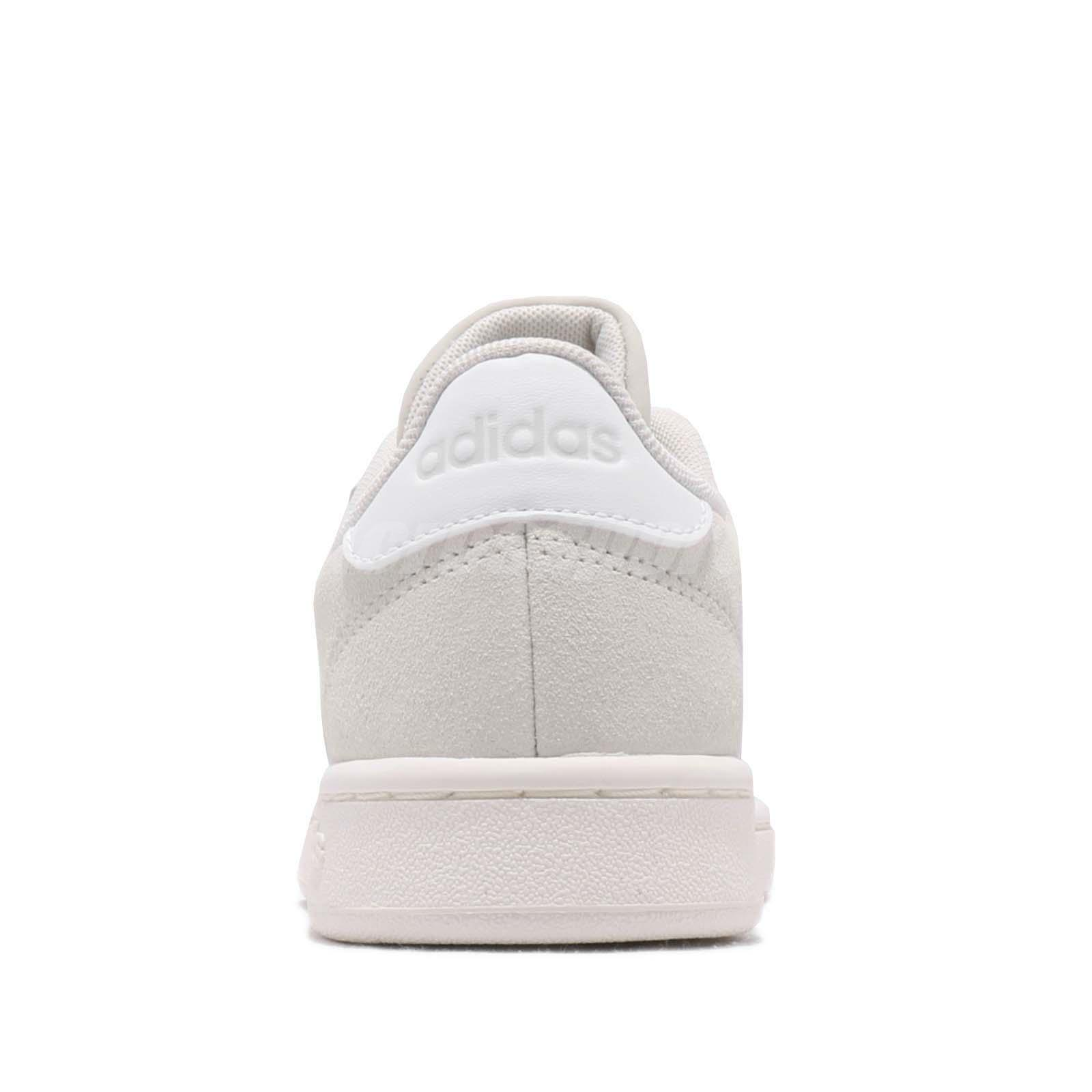 b9ff33145726 Details about adidas Grand Court Raw White Women Classic Casual Lifestyle  Shoes Sneaker F36497