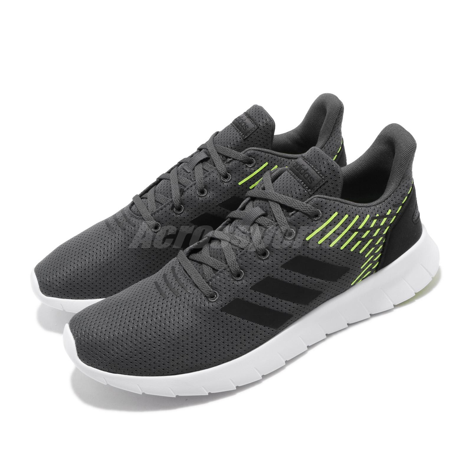 Adidas Core asweerun Hommes Baskets Baskets Chaussures De Course f36994 Gris Nouveau