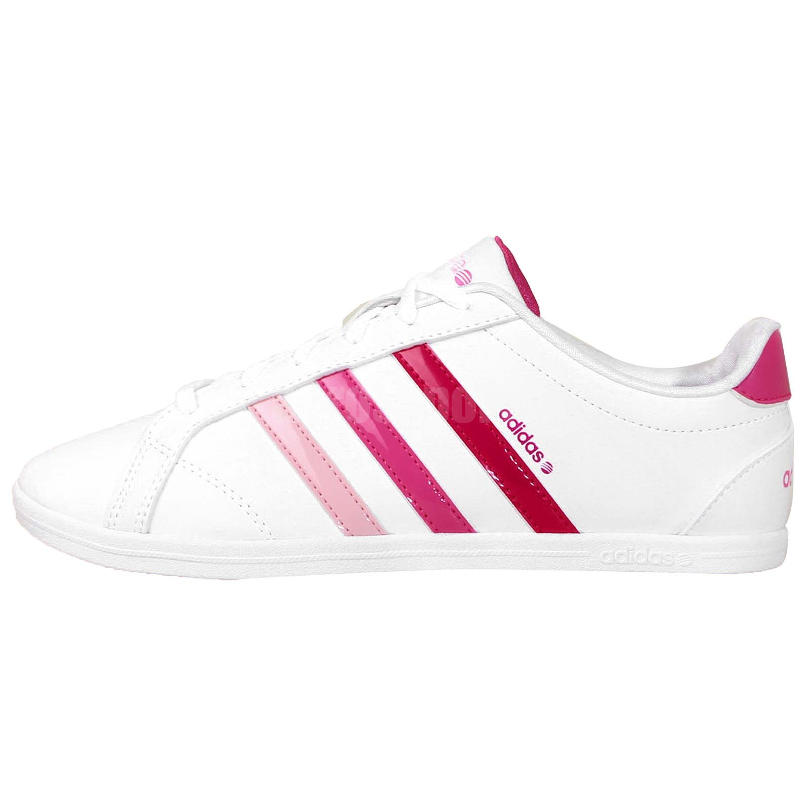 adidas coneo qt neo label white pink 2014 womens casual. Black Bedroom Furniture Sets. Home Design Ideas