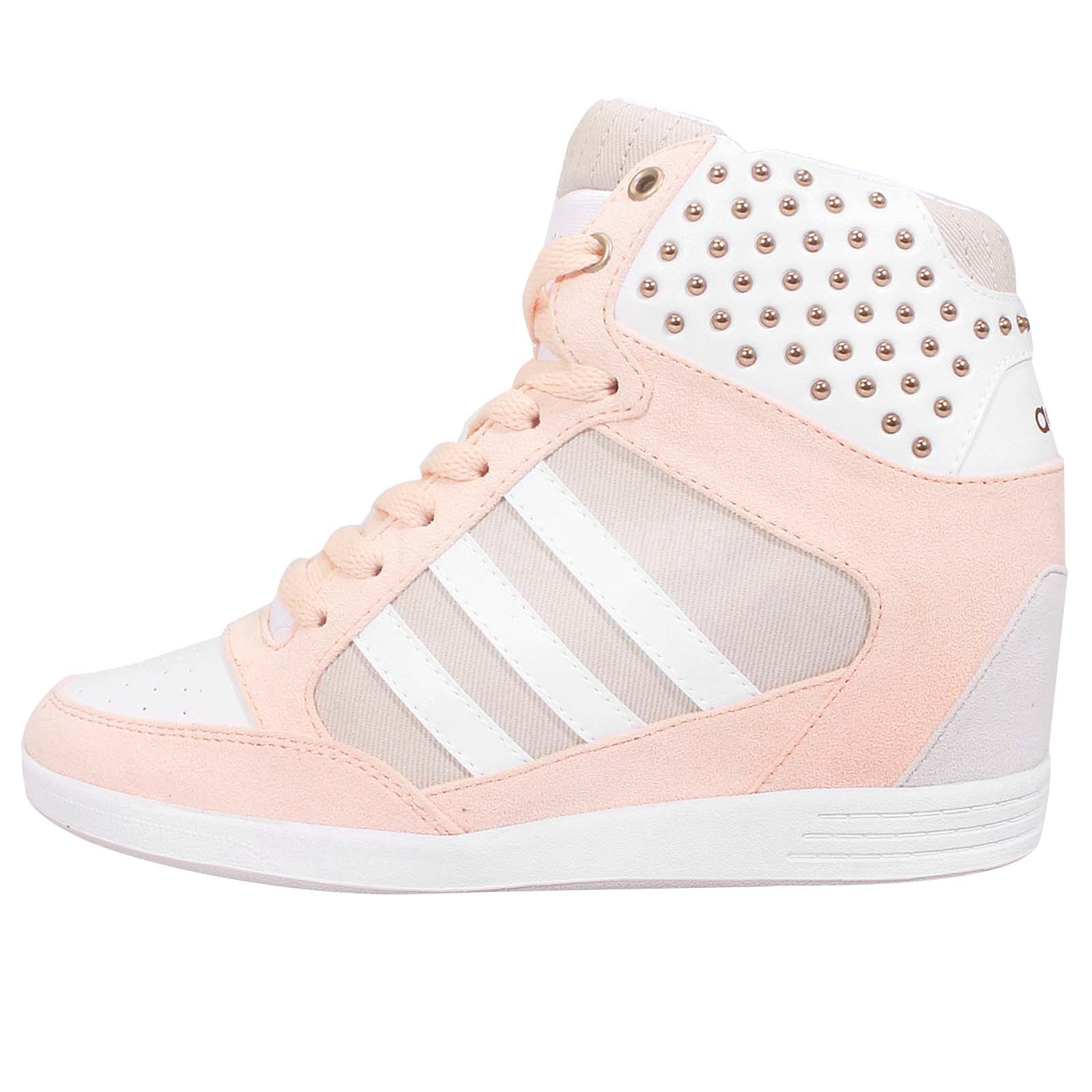 new style 30cda 7d580 neo wedges adidas