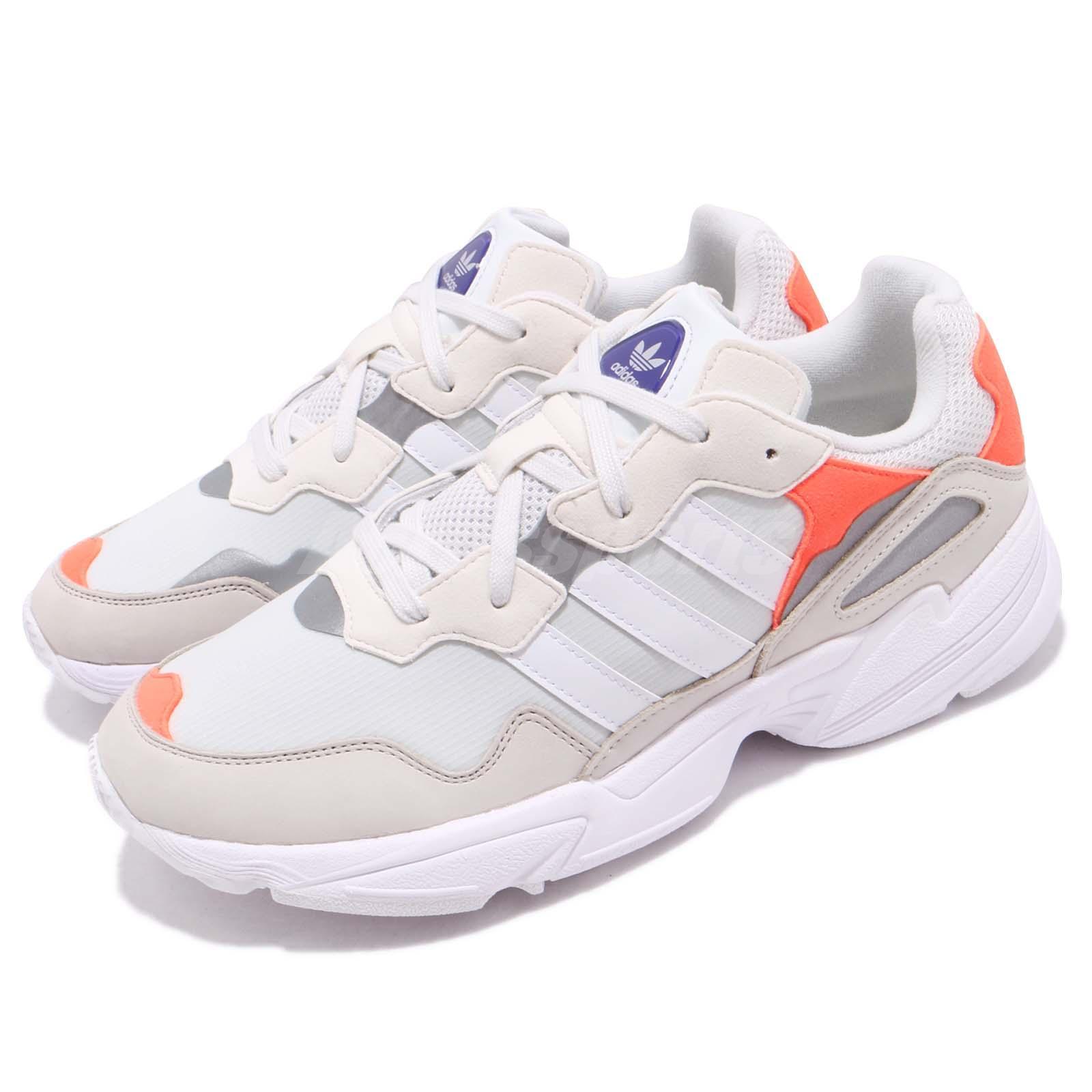 wybór premium Pierwsze spojrzenie najlepsze buty Details about adidas Originals Yung-96 White Orange Men Running Daddy Shoes  Sneakers F97179