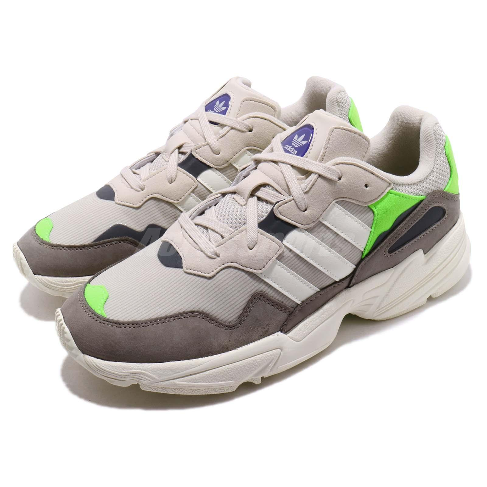 Details about adidas Originals Yung 96 Solar Green Off White Grey Men Running Shoes F97182