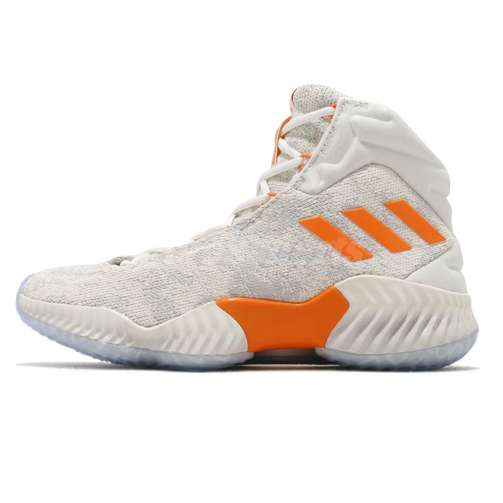 e7ccf91e2abe adidas PB Candace Parker Pro Bounce 18 Off White Orange Women Basketball  F97243