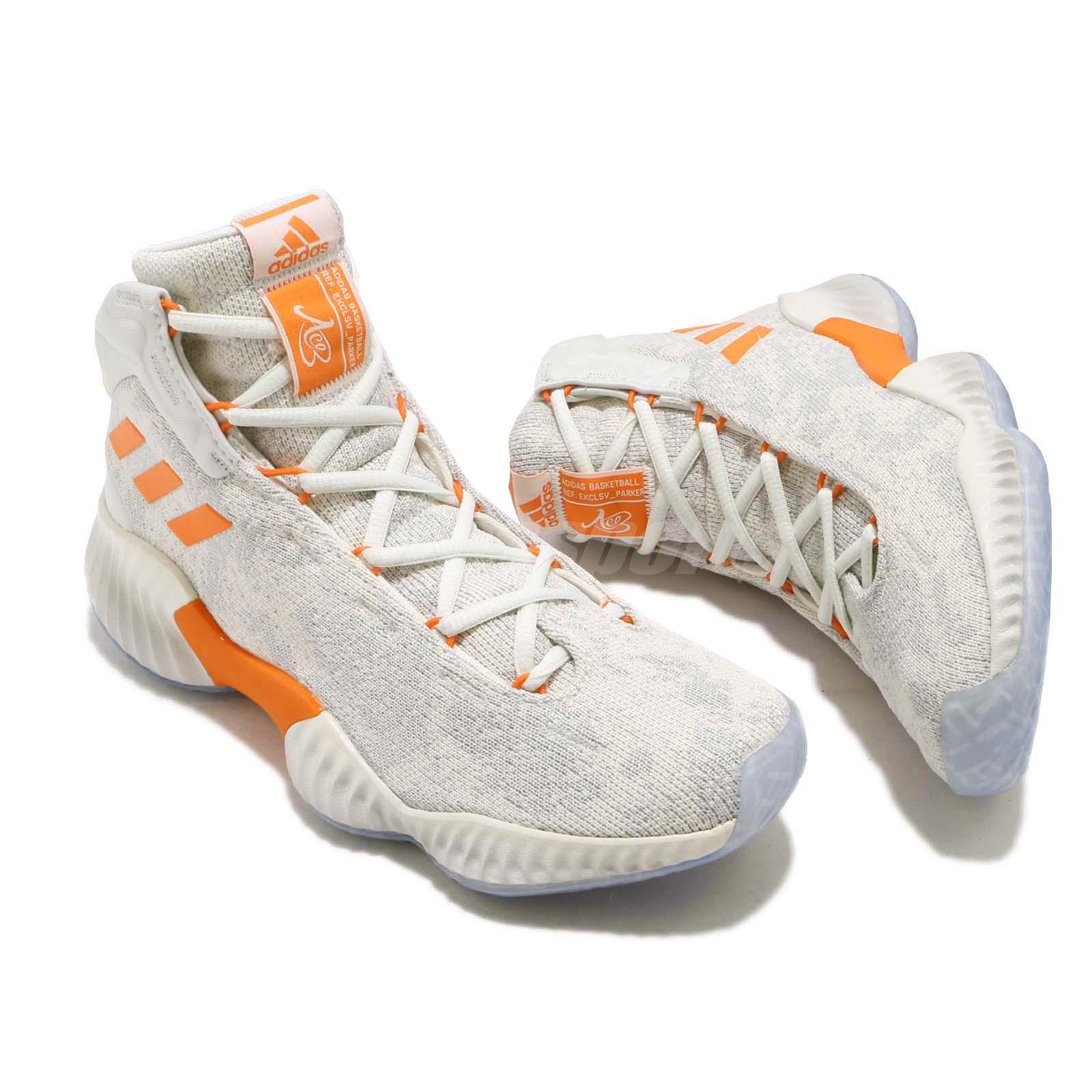 d937cea71aca Adidas Pb Кэндис Паркер Pro Bounce 18 скидка белый оранжевый Женский ...
