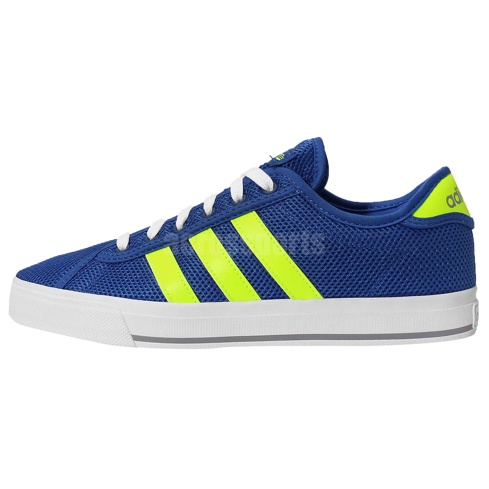 adidas neo label daily bind blue yellow white mens fashion. Black Bedroom Furniture Sets. Home Design Ideas