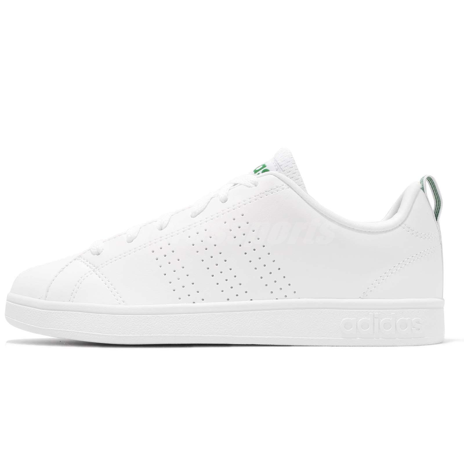 brand new 10d8e a4cee adidas Neo Label Advantage Clean VS White Green Men Casual Shoes Sneakers  F99251